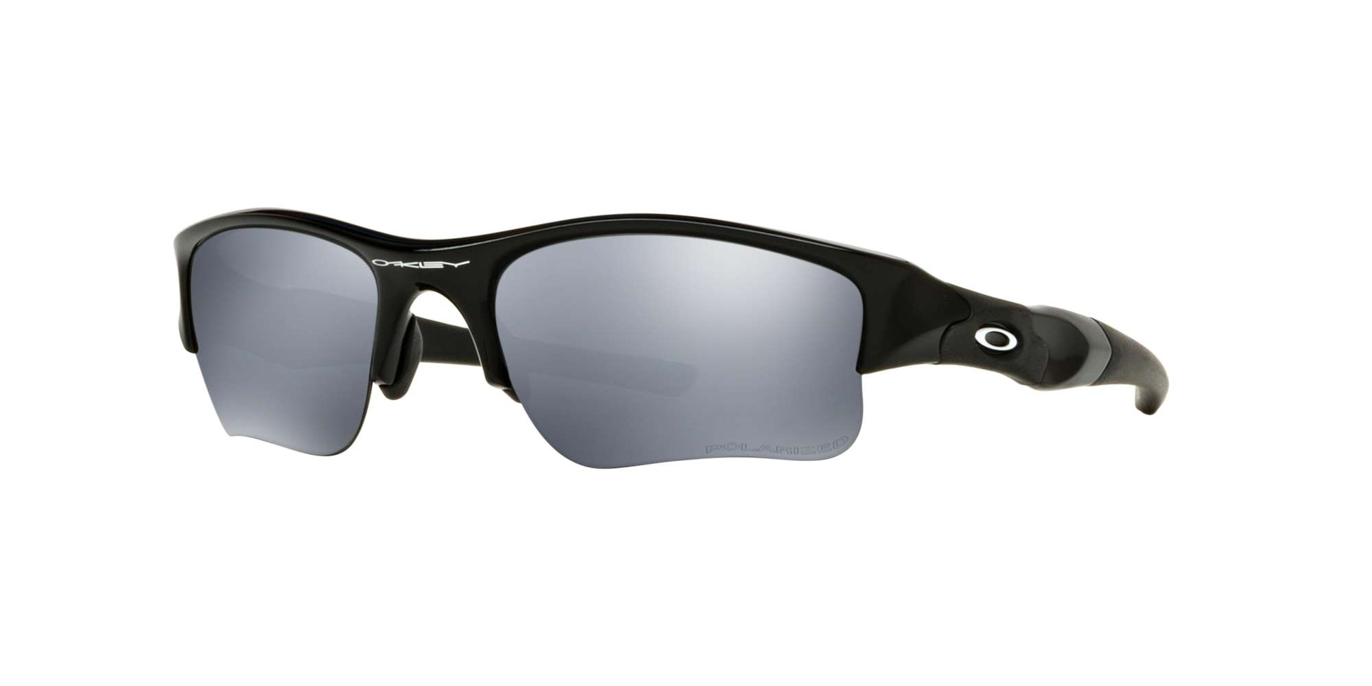 JET BLACK / BLACK IRIDIUM POLARIZED lenses