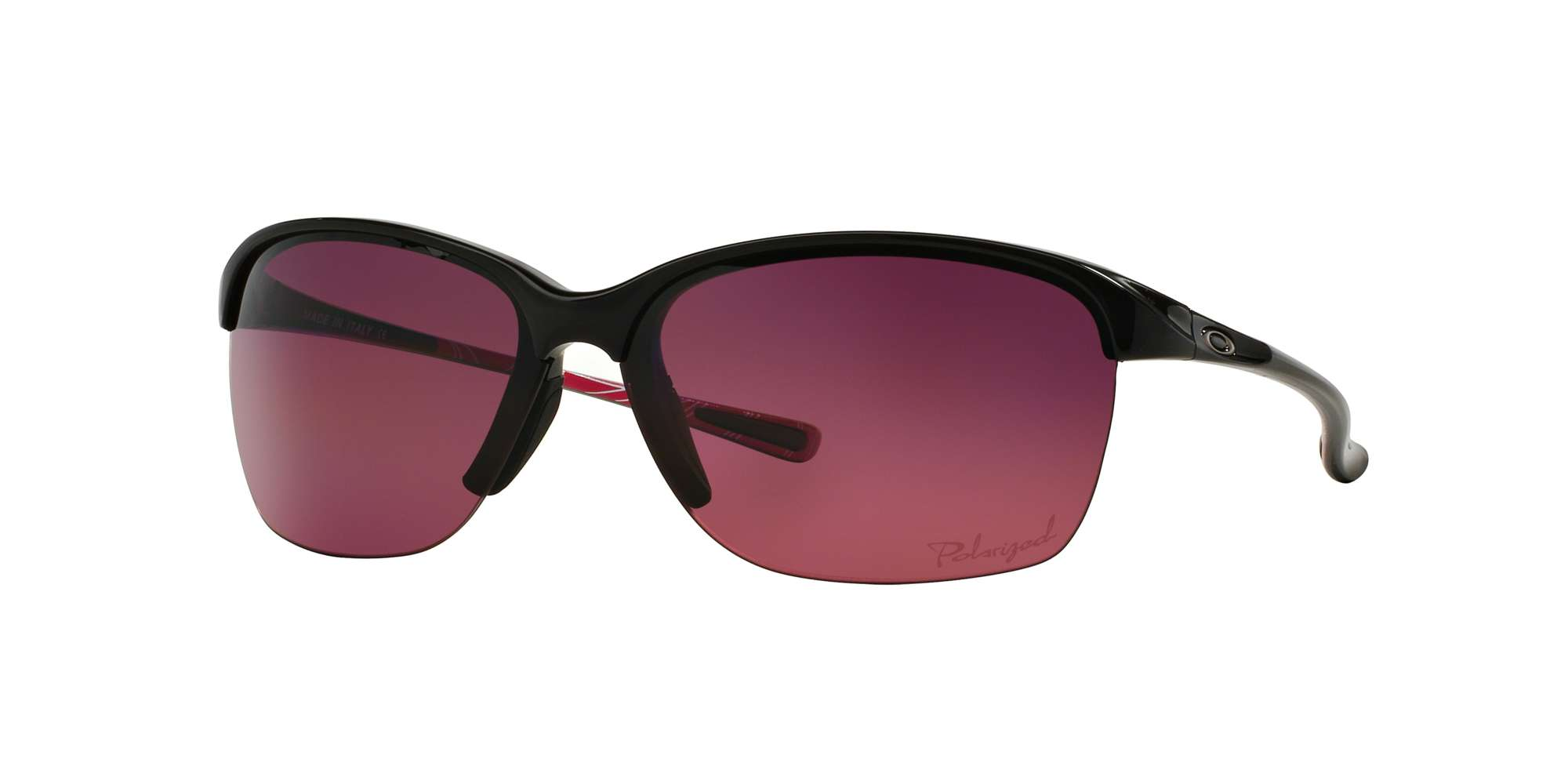 POLISHED BLACK / ROSE GRADIENT POLARIZED lenses