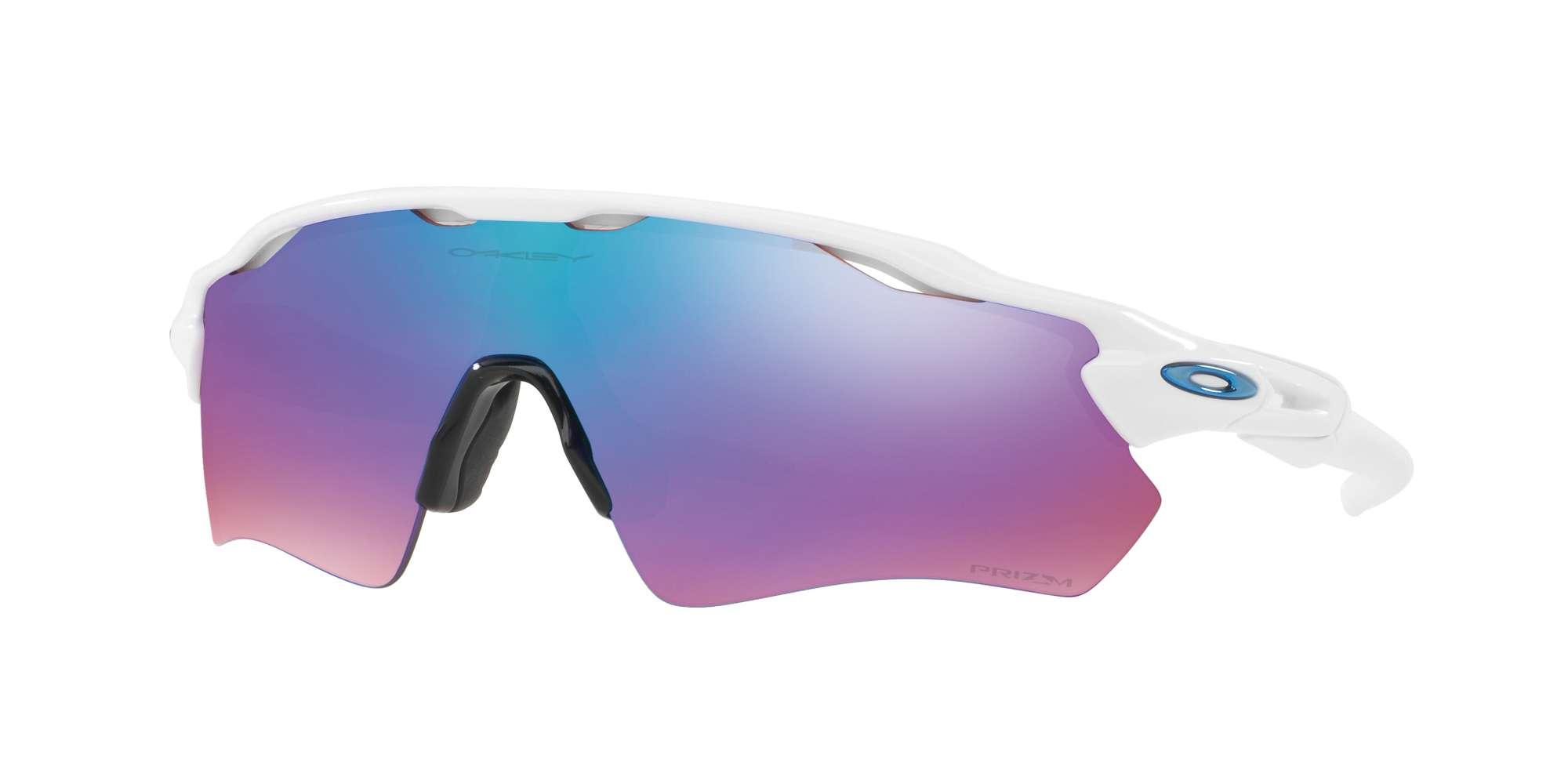 POLISHED WHITE / PRIZM SAPPHIRE SNOW lenses