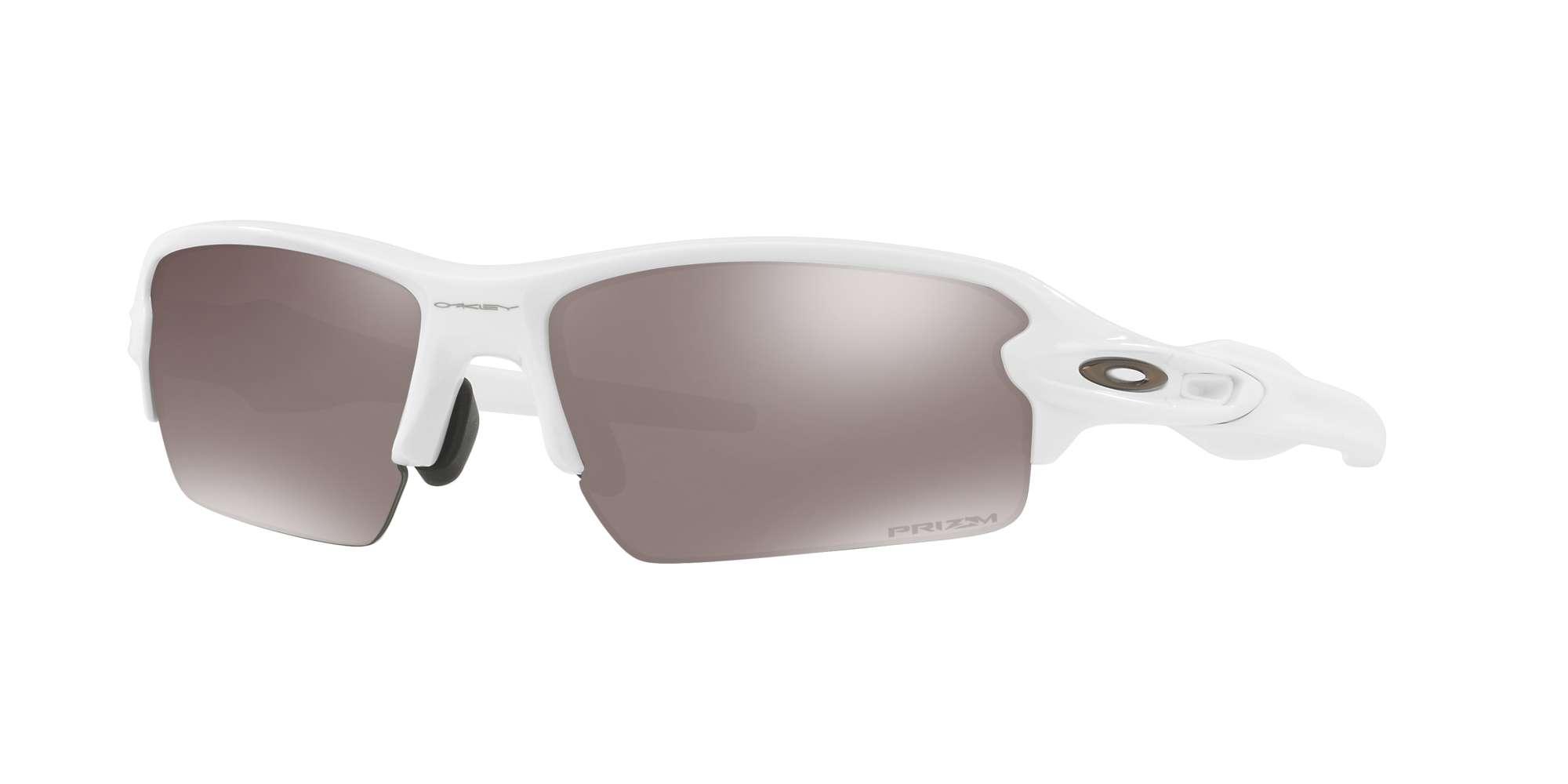 POLISHED WHITE / PRIZM BLACK POLARIZED lenses