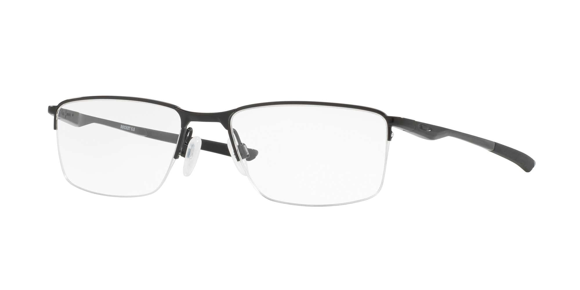 POLISHED BLACK / CLEAR lenses