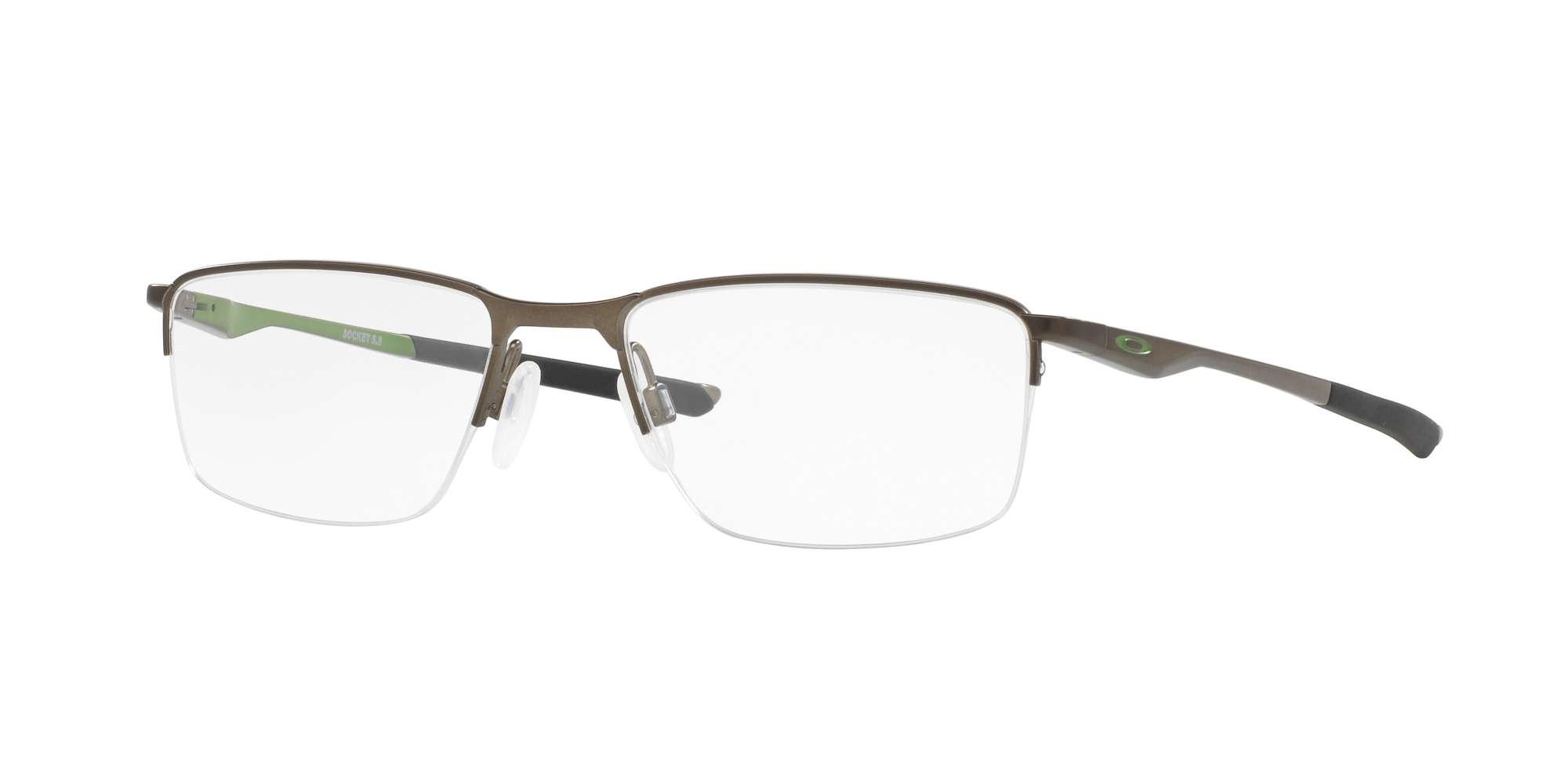 SATIN PEWTER / CLEAR lenses