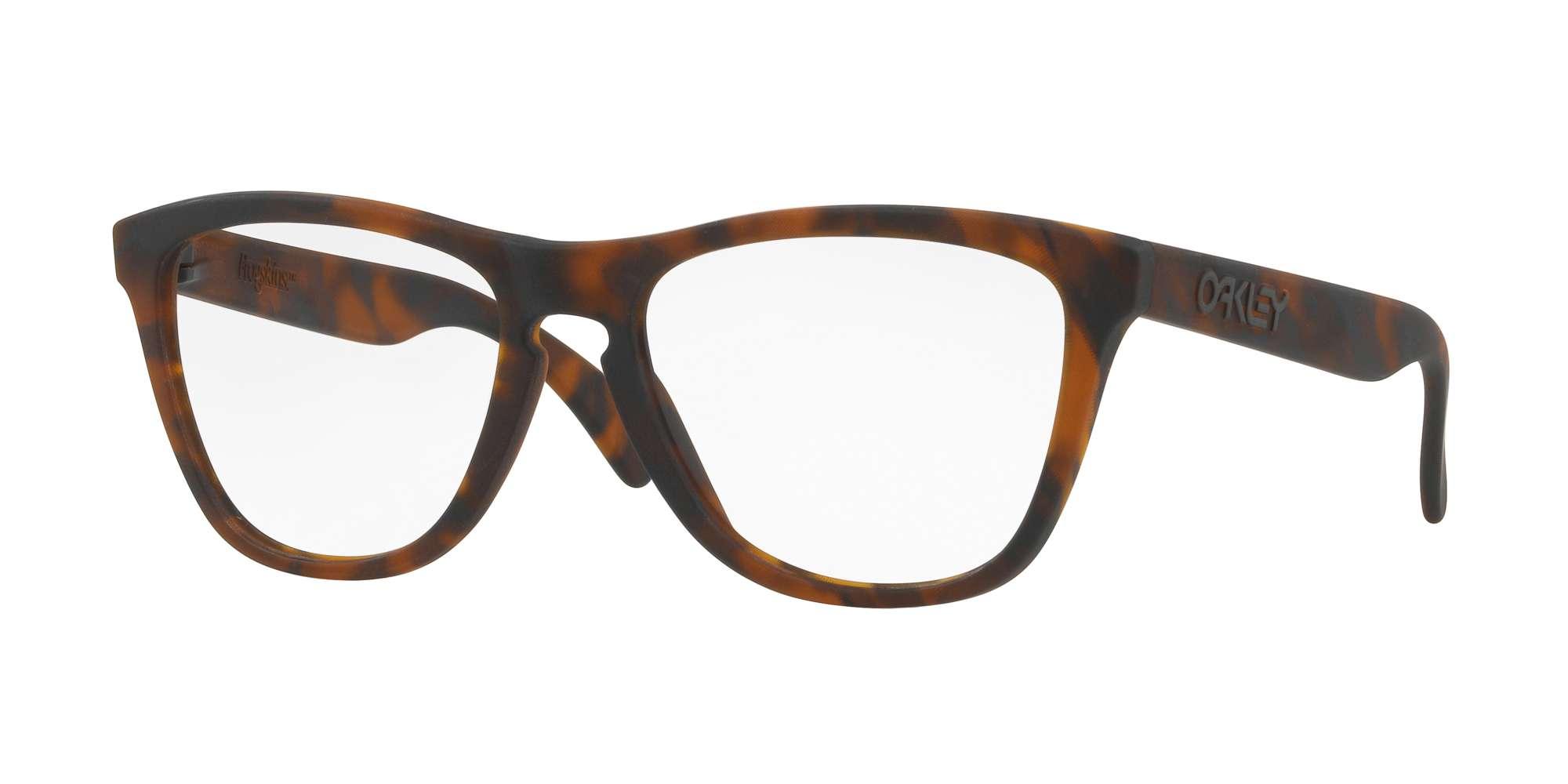 BROWN TORTOISE / CLEAR lenses