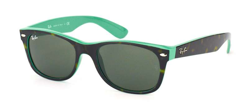 Top Havana On Green / Green lenses