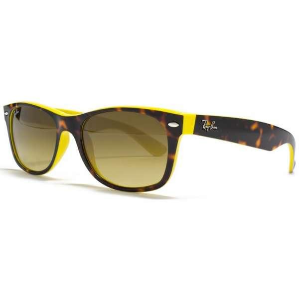 Top Havana On Yellow / Brown Gradient lenses