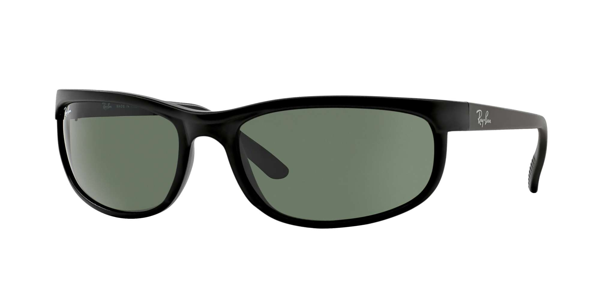 BLACK/ MATTE BLACK / CRYSTAL GREEN lenses