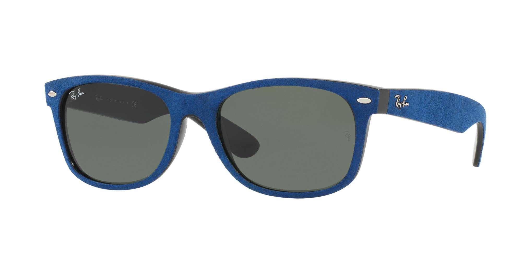 BLACK/TOP BLUE ALCANTARA / GREEN lenses