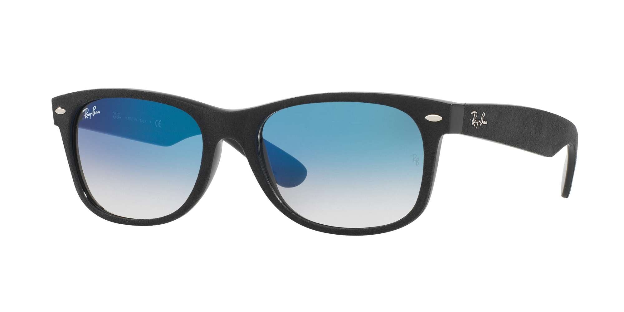 BLACK/TOP BLACK ALCANTAR / BLUE GRADIENT lenses