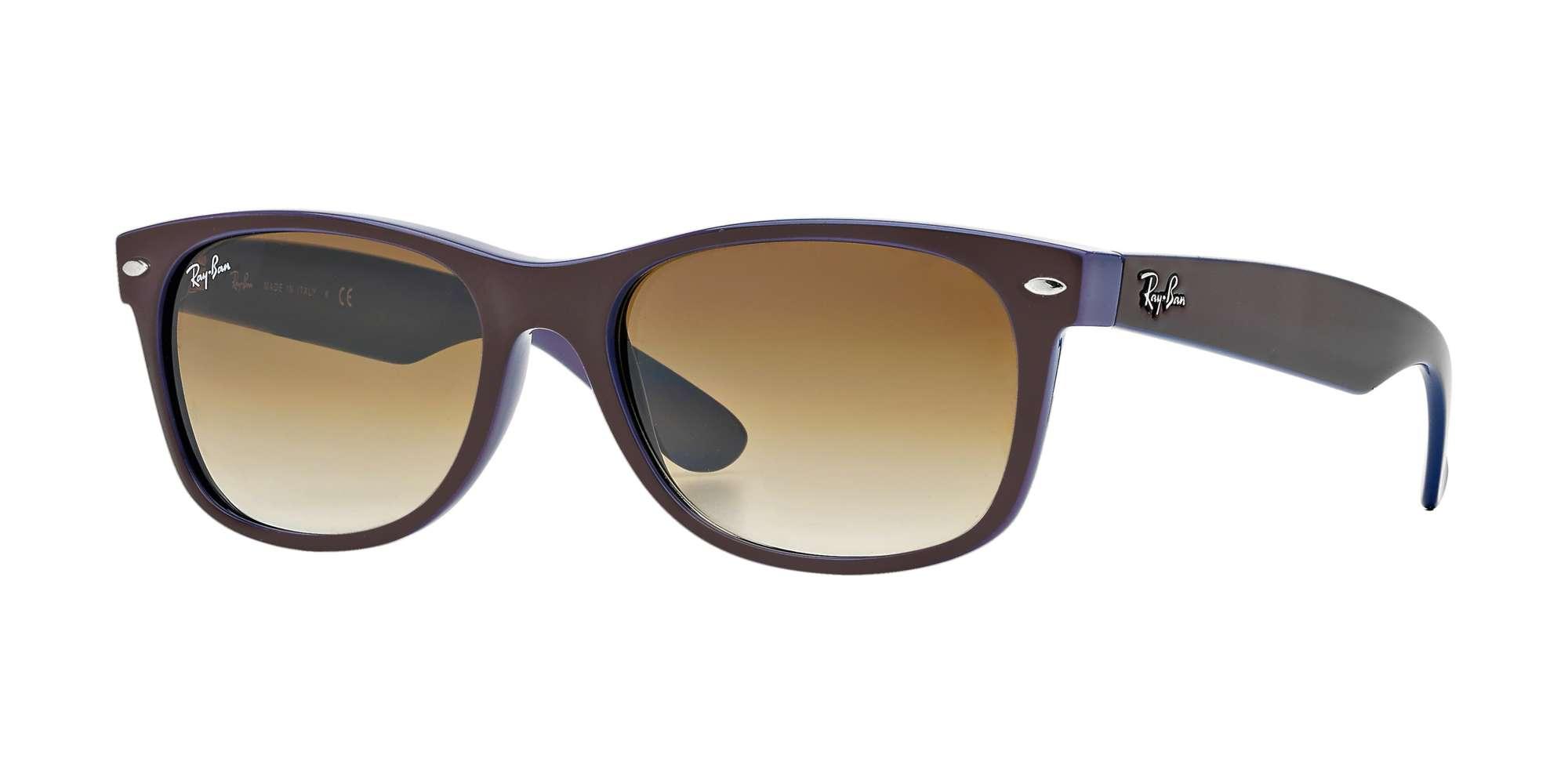 Top Brown On Blue / Crystal Brown Gradient lenses