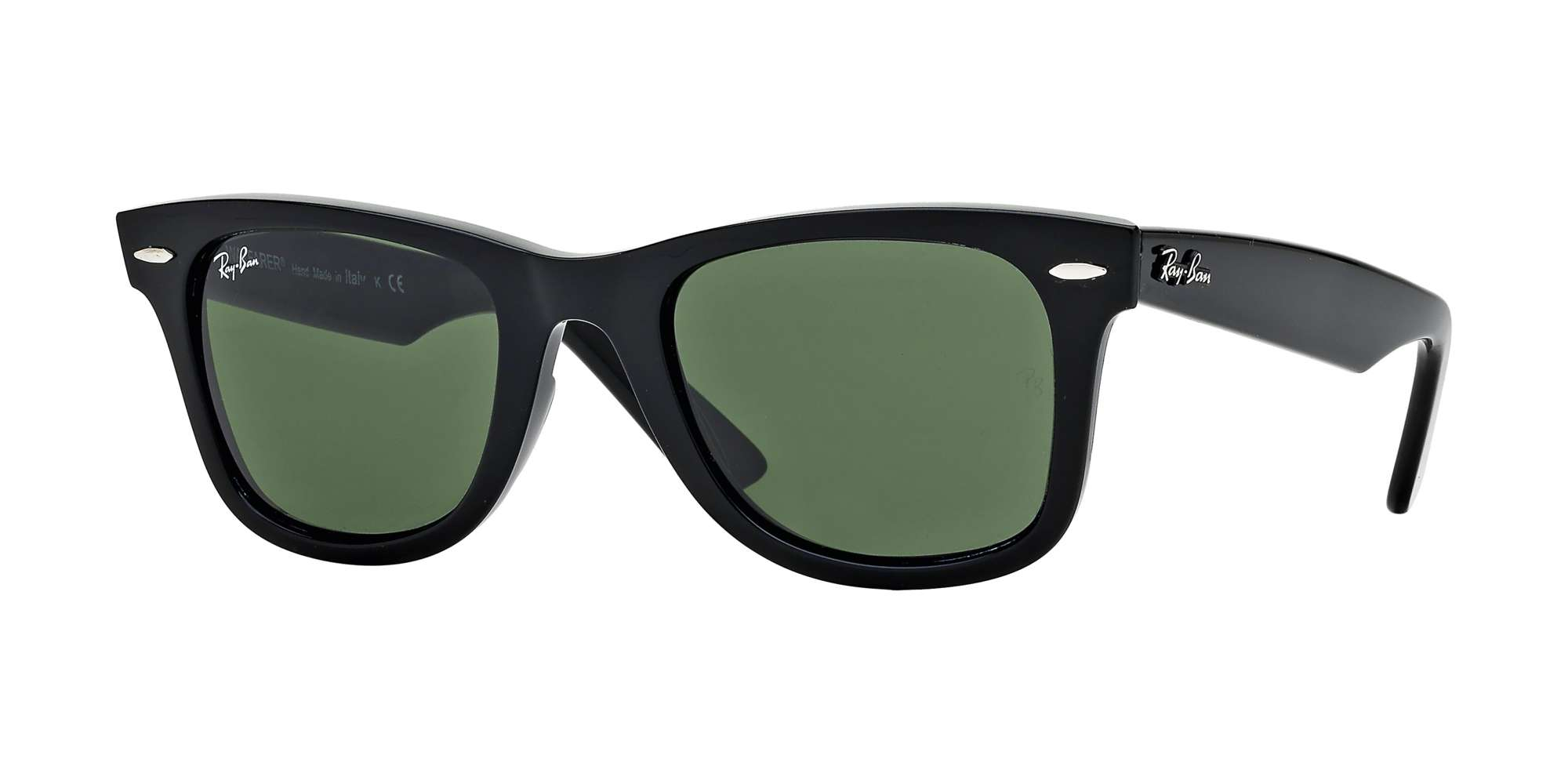 BLACK / CRYSTAL GREEN lenses