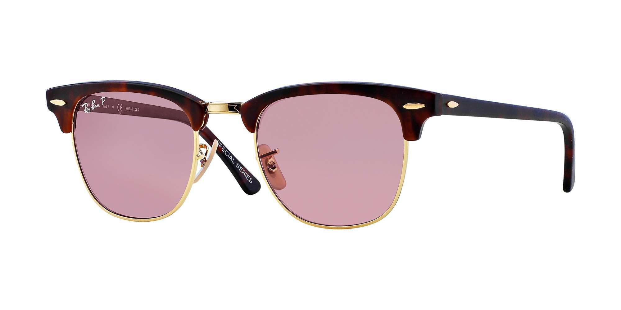 Matte Red Havana / Polar Dark Pink lenses