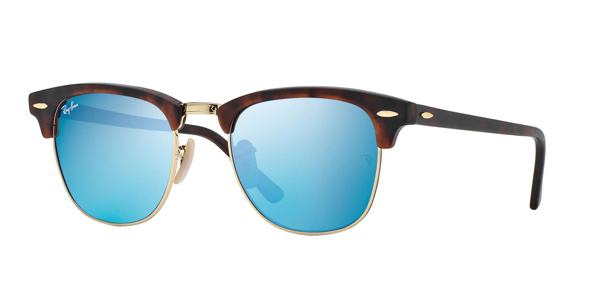SAND HAVANA/GOLD / GREY MIRROR BLUE lenses