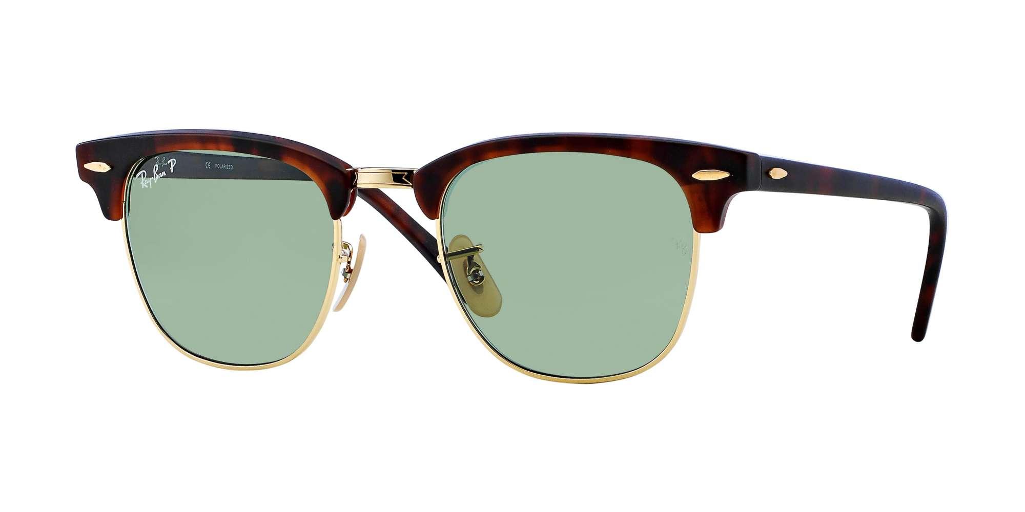 Matte Red Havana / Polar Green lenses