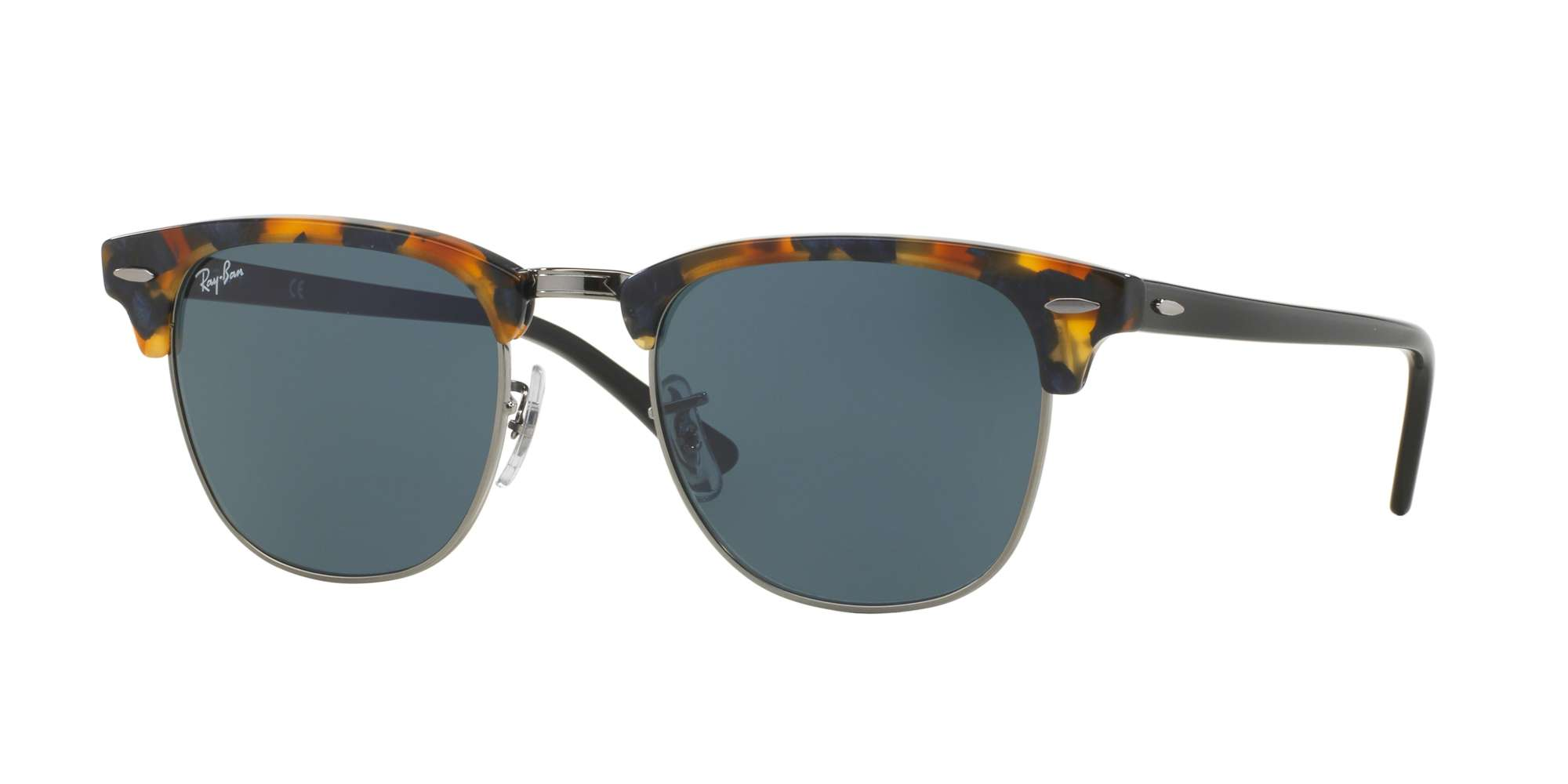 SPOTTED BLUE HAVANA / GREY lenses