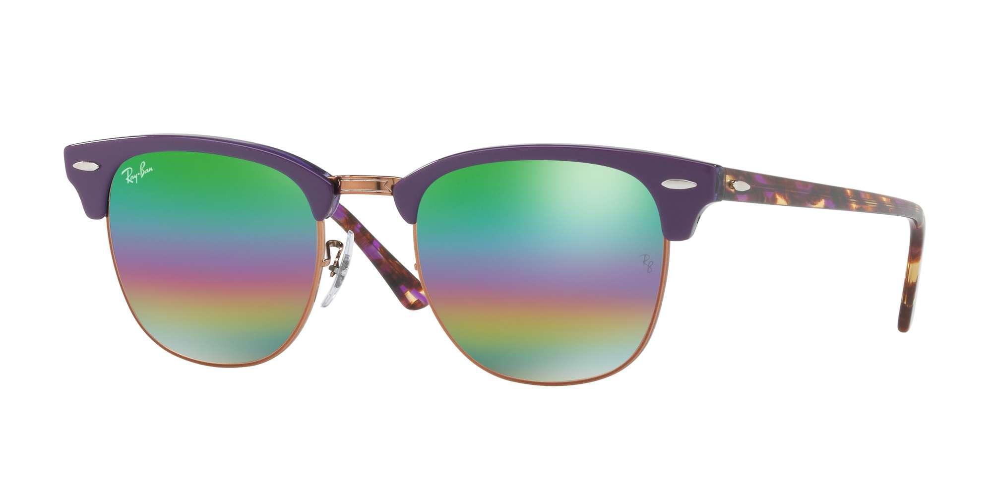 METALLIC MEDIUM BRONZE / LIGHT GREY MIRROR RAINBOW 2 lenses