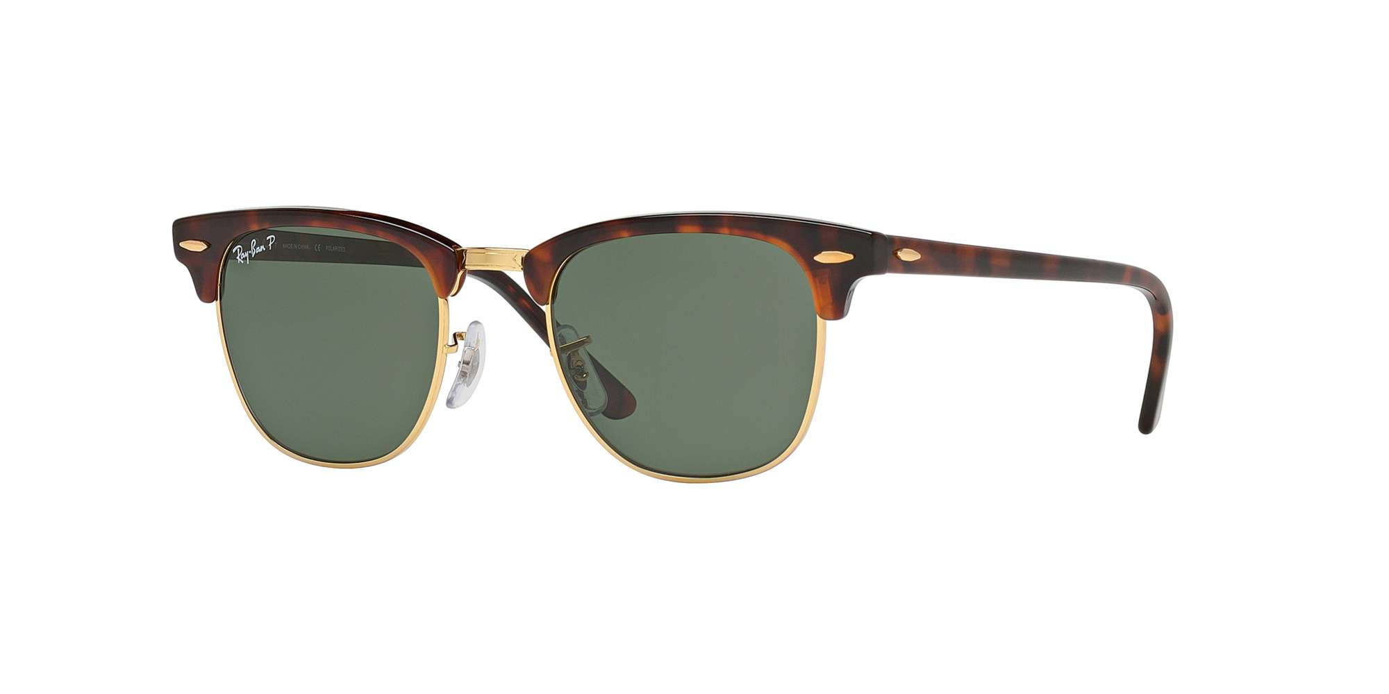RED HAVANA / CRYSTAL GREEN POLARIZED lenses