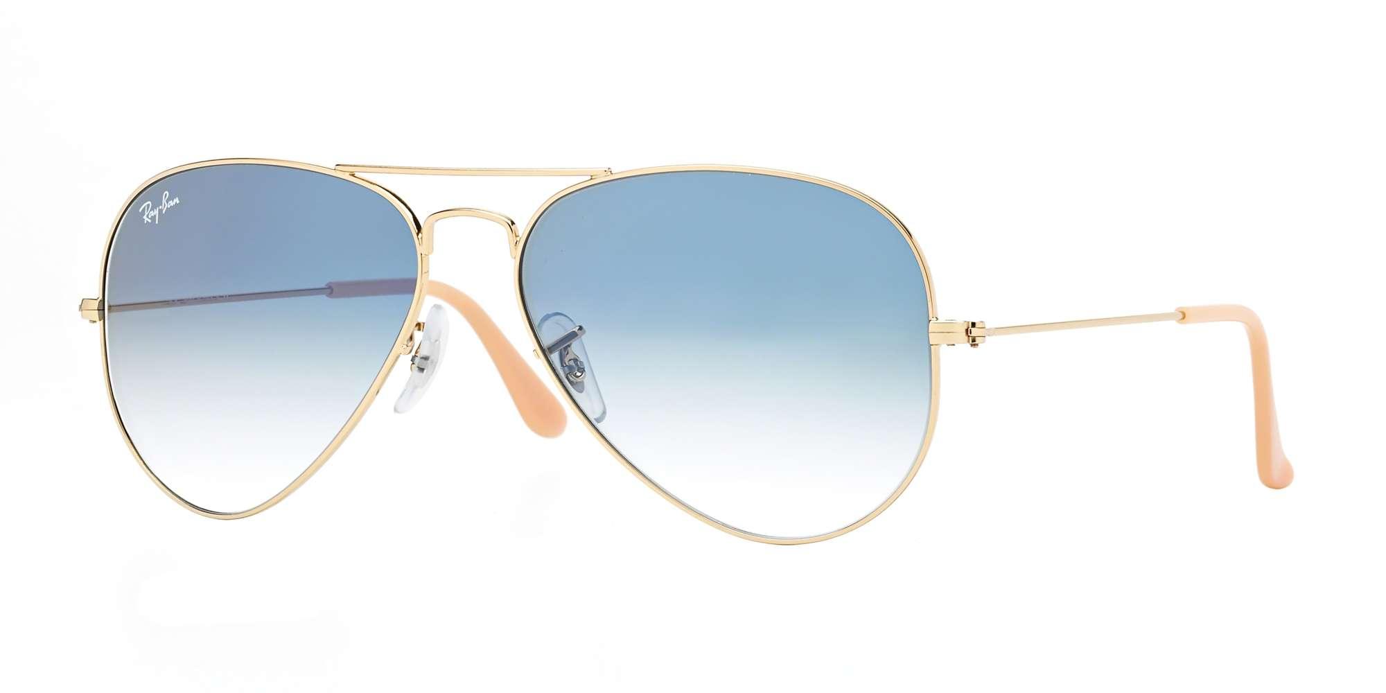 e36bf0f02f1 Ray-Ban RB3025 - Large Aviator Metal Sunglasses