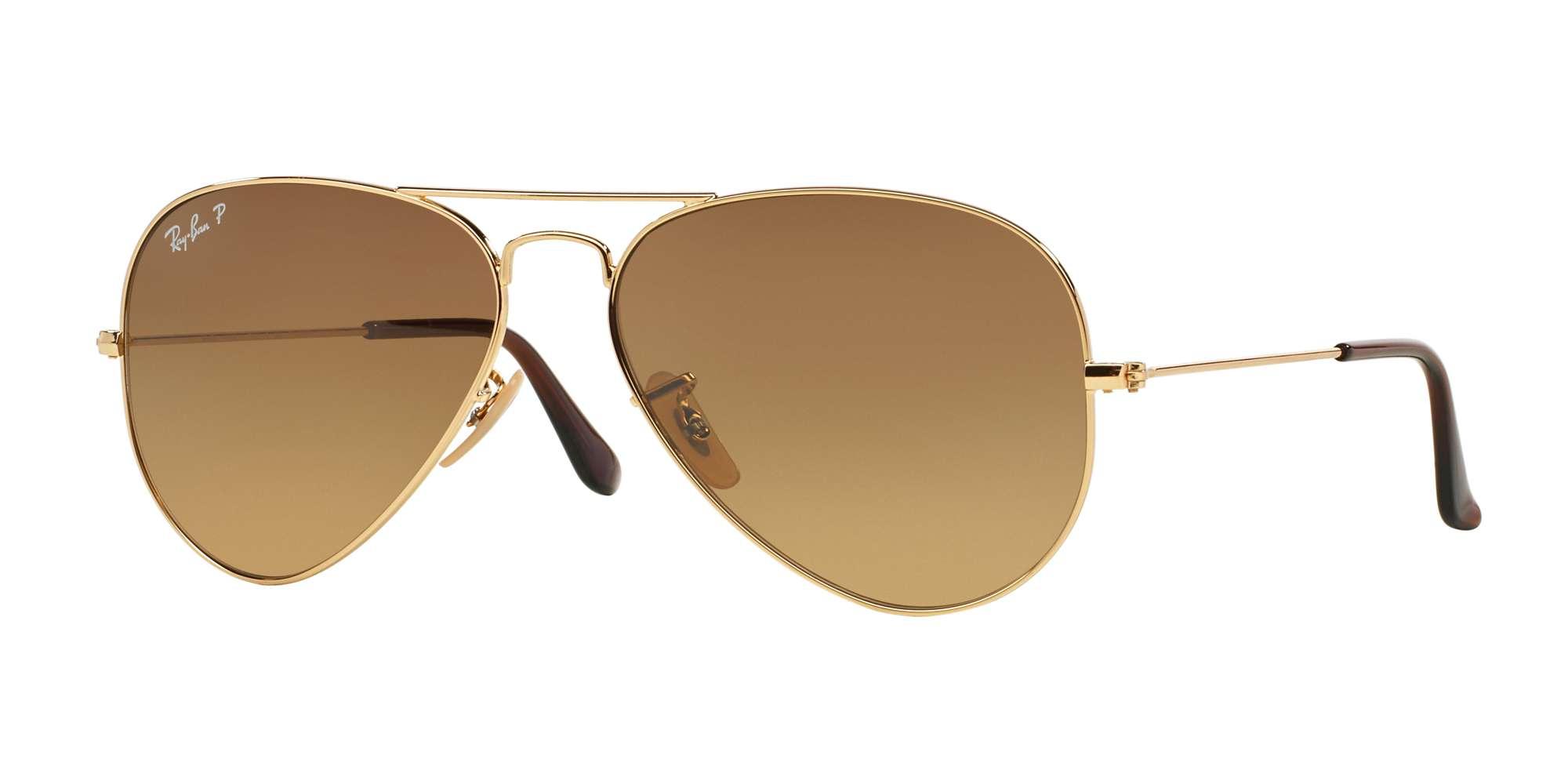 SHINY GOLD / CRYSTAL POLAR BROWN GRADIENT lenses