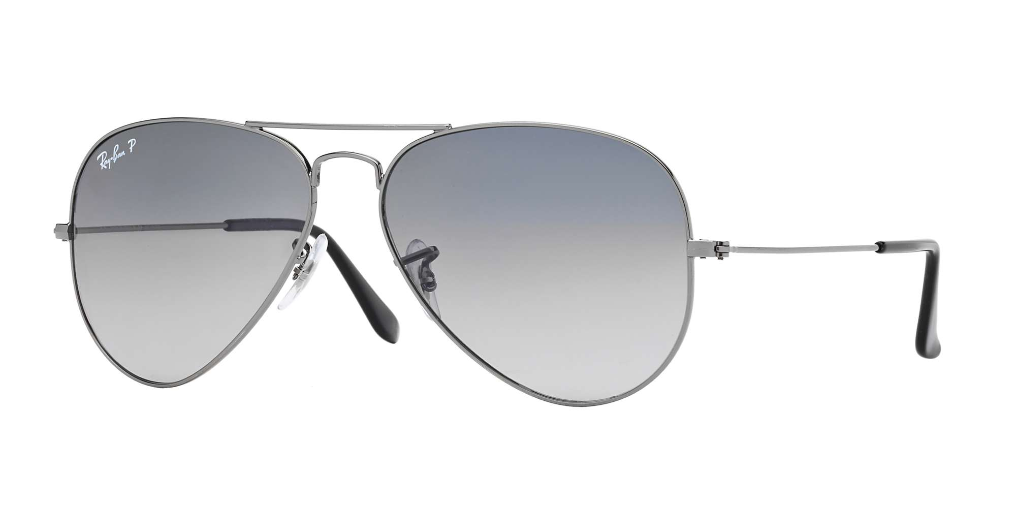 GUNMETAL / Crystal Polarized Blue Gradiant Grey lenses