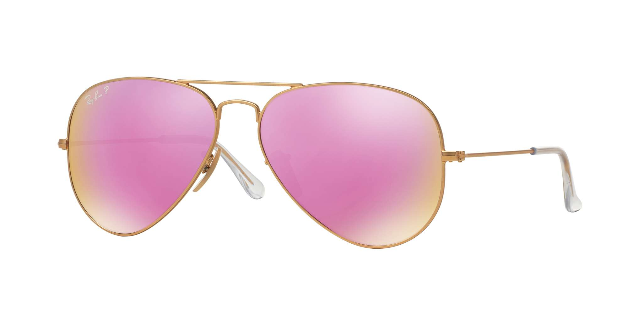 MATTE GOLD / BROWN MIRROR FUCSIA POLAR lenses