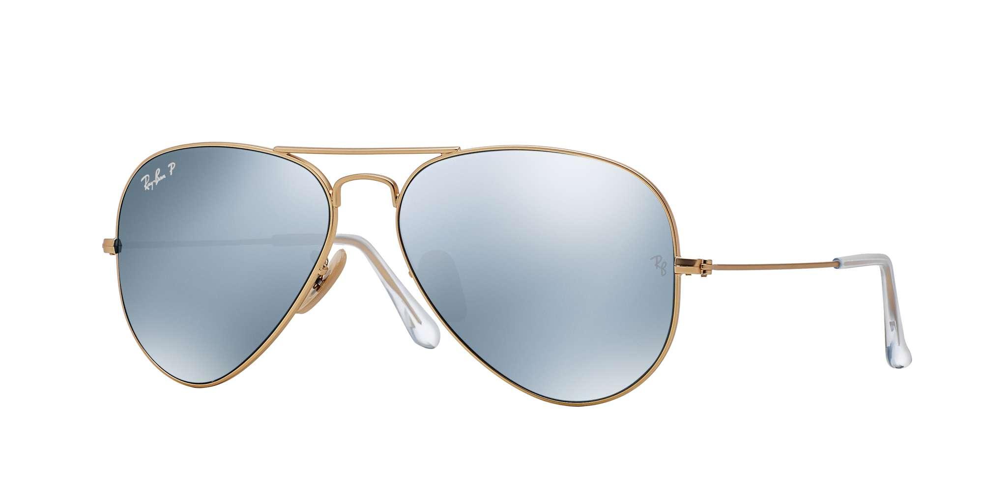 MATTE GOLD / DARK GREY MIRROR POLAR lenses