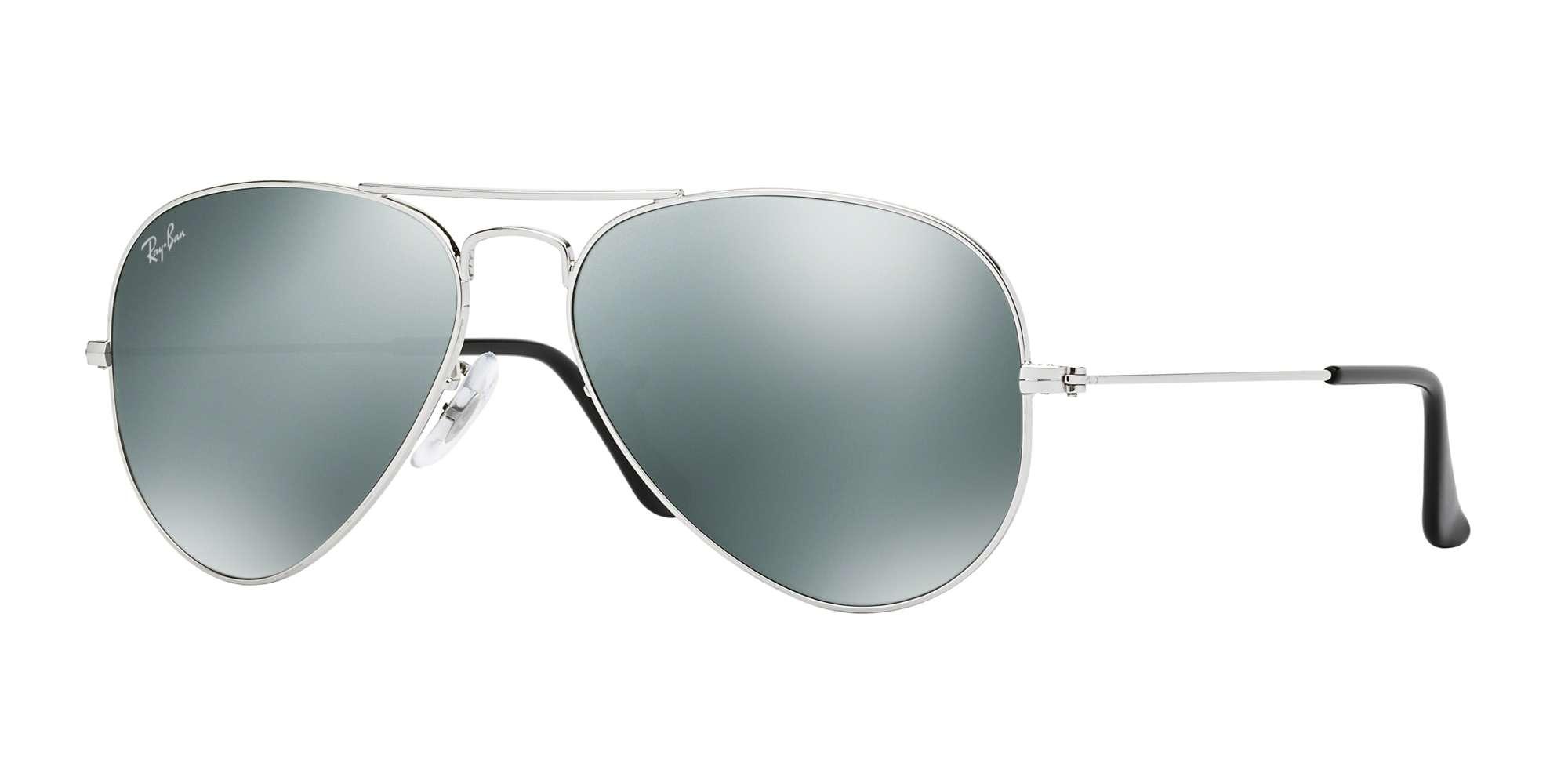 SILVER / CRYSTAL GREY MIRROR lenses