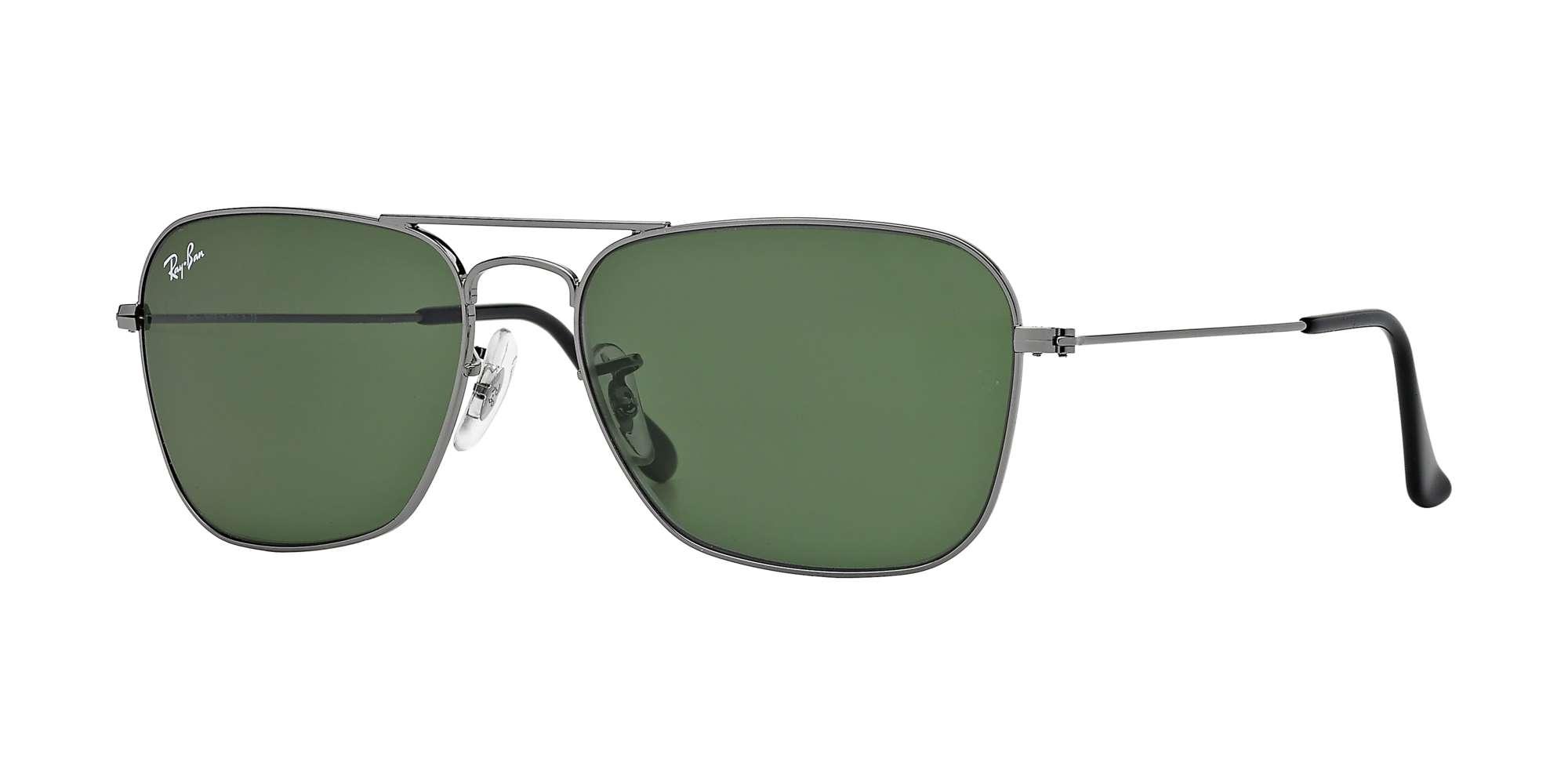 GUNMETAL / CRYSTAL GREEN lenses