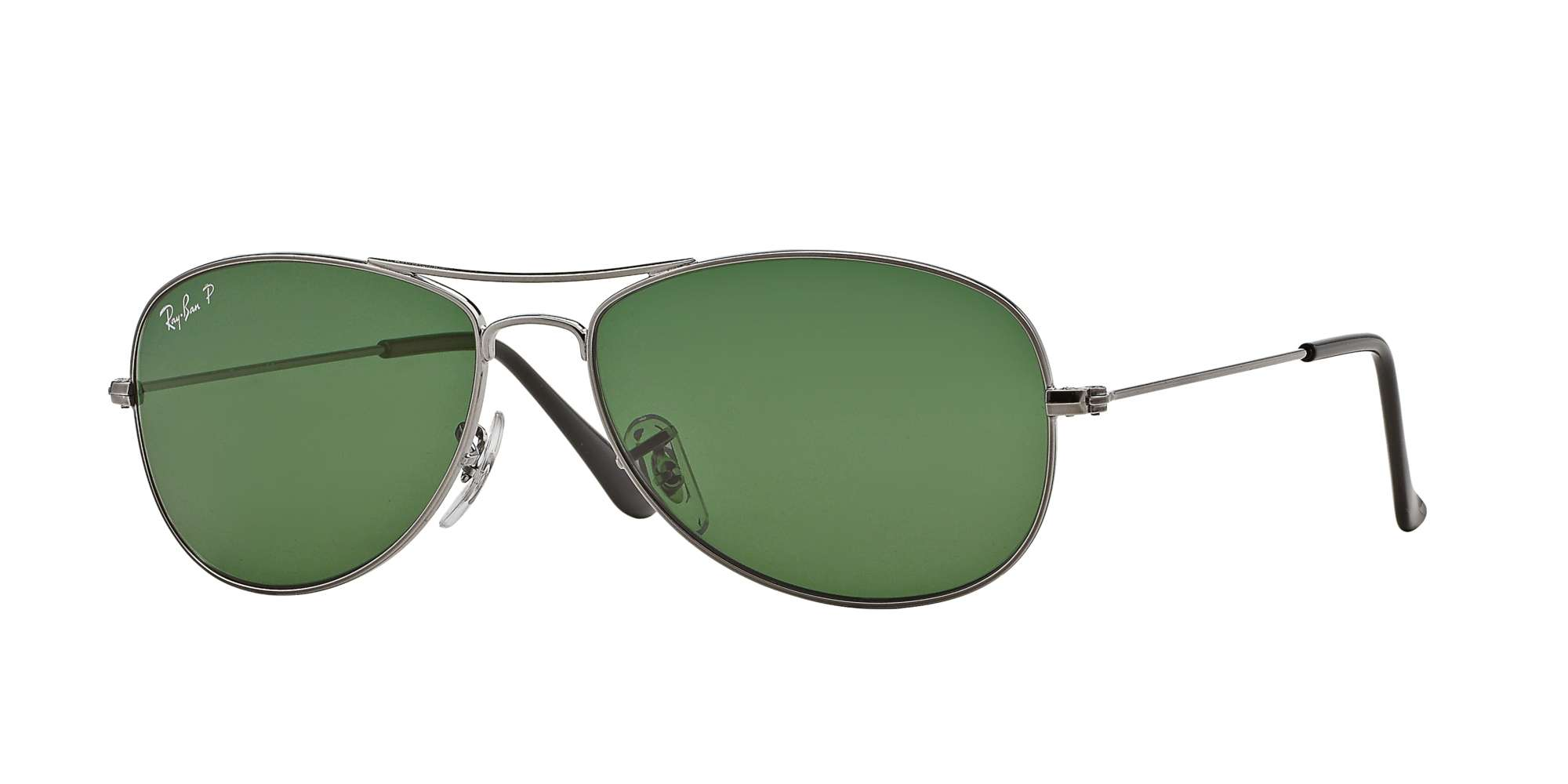 GUNMETAL / CRYSTAL GREEN POLARIZED lenses