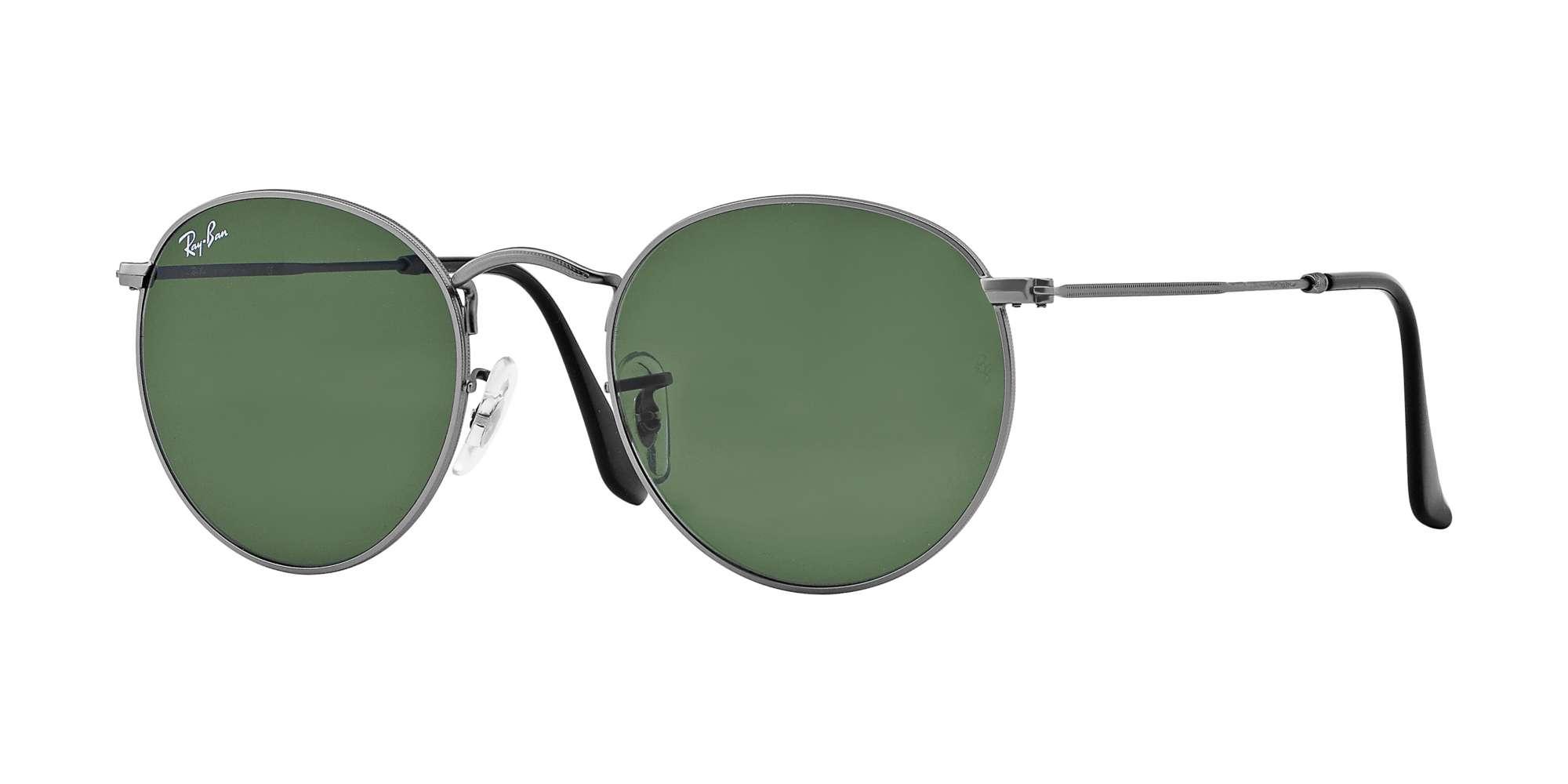 MATTE GUNMETAL / CRYSTAL GREEN lenses