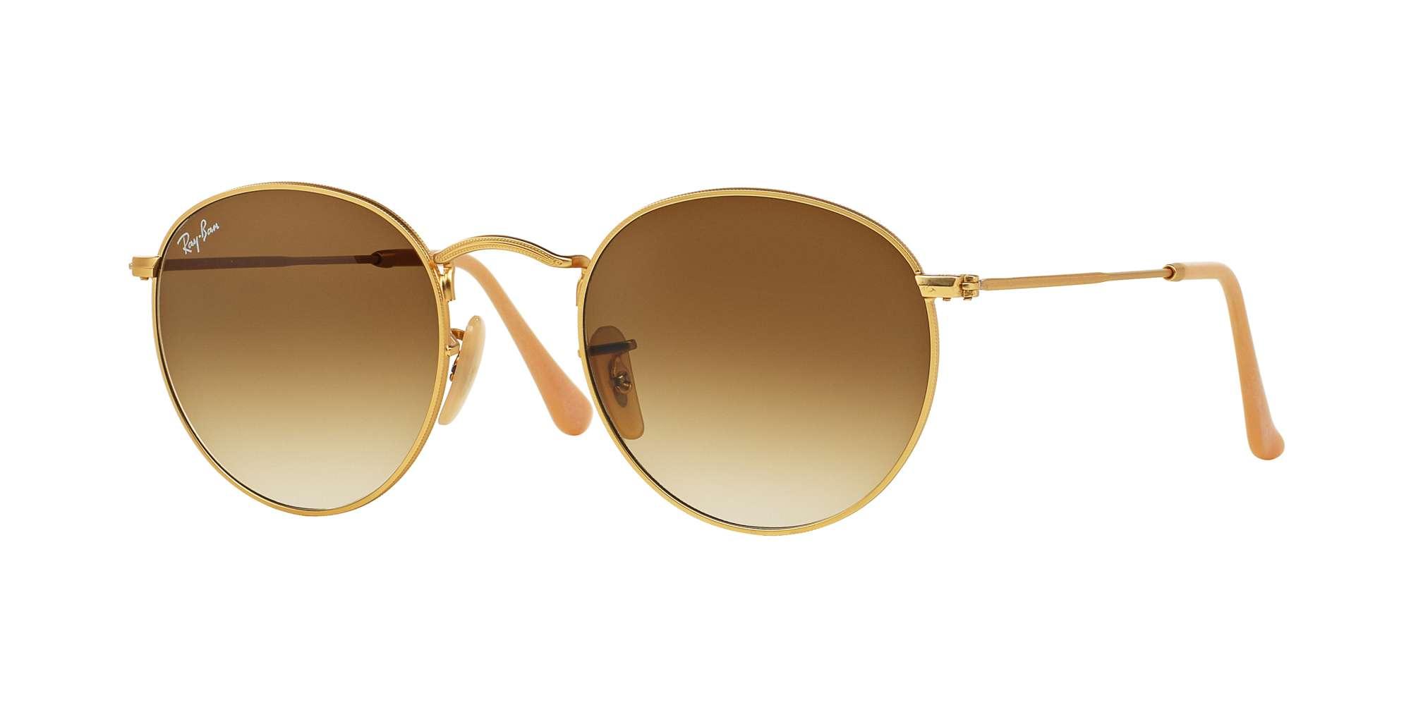 MATTE GOLD / CLEAR GRADIENT BROWN lenses