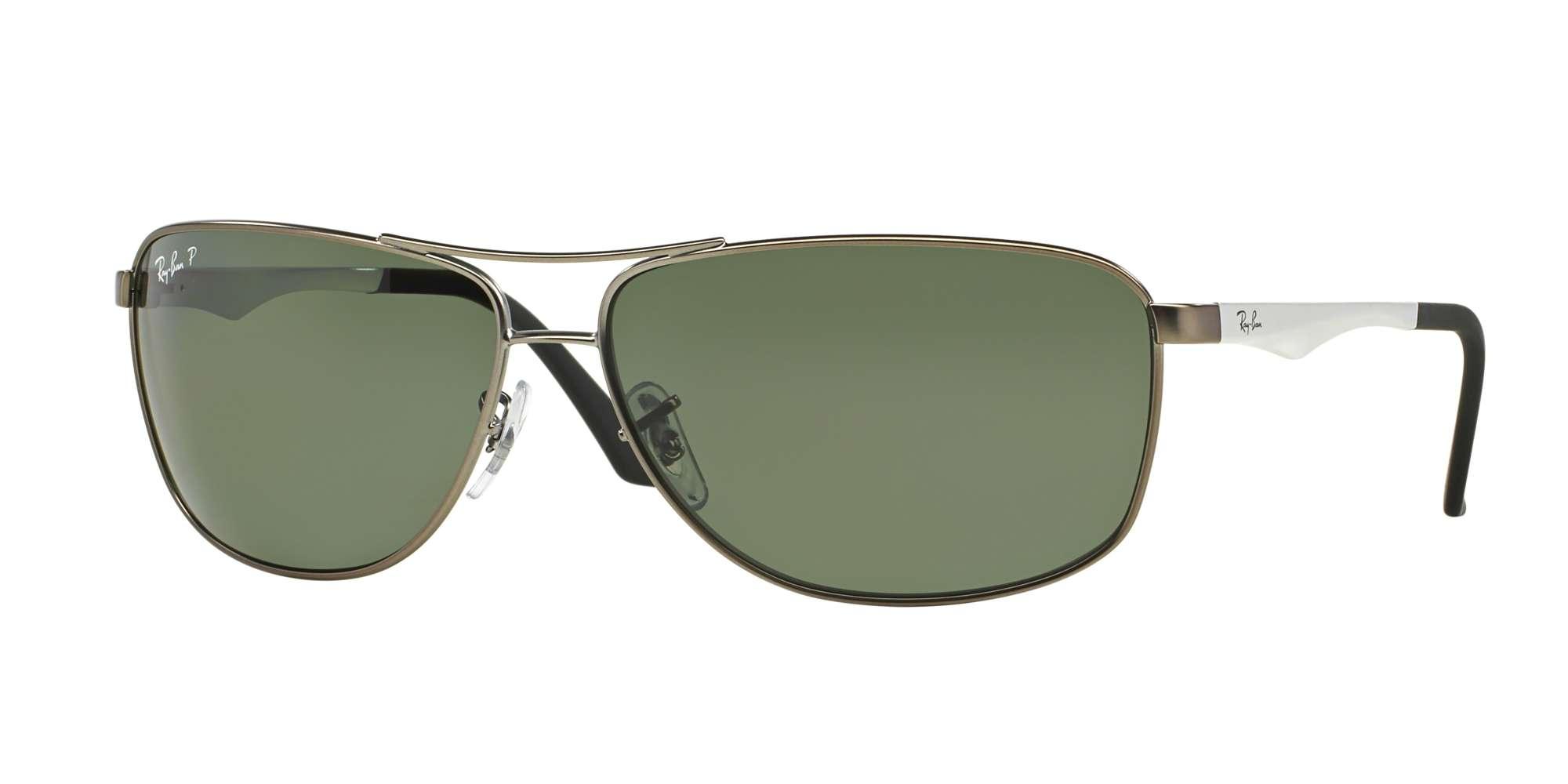 MATTE GUNMETAL / POLAR GREEN lenses