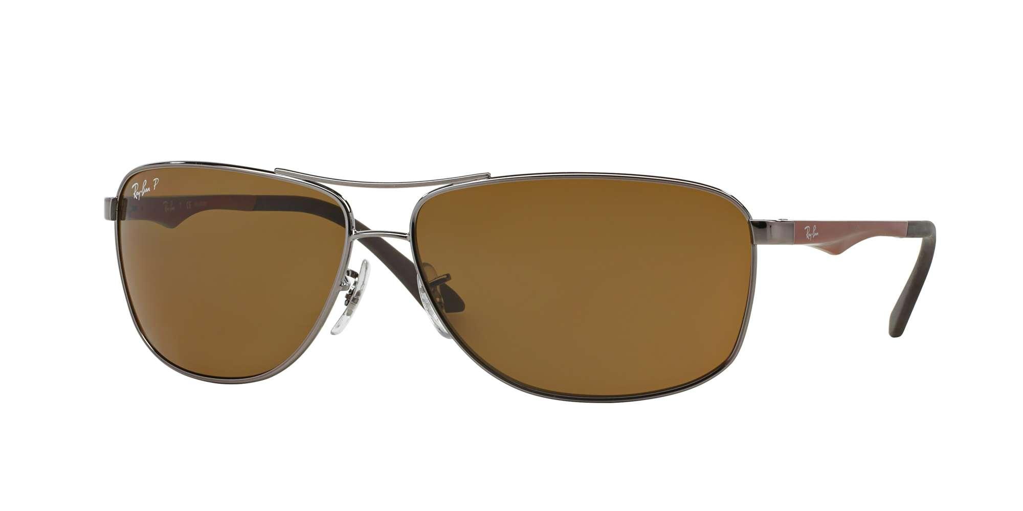 GUNMETAL / POLAR BROWN lenses