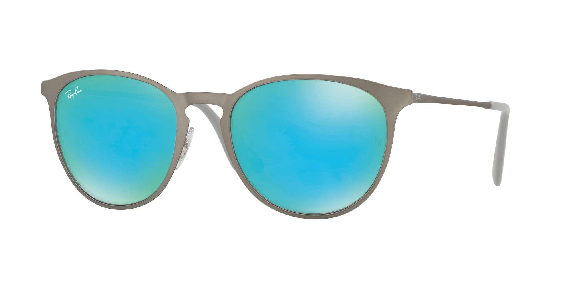RUBBER GUNMETAL / GREEN LIGHT FLASH BLUE lenses