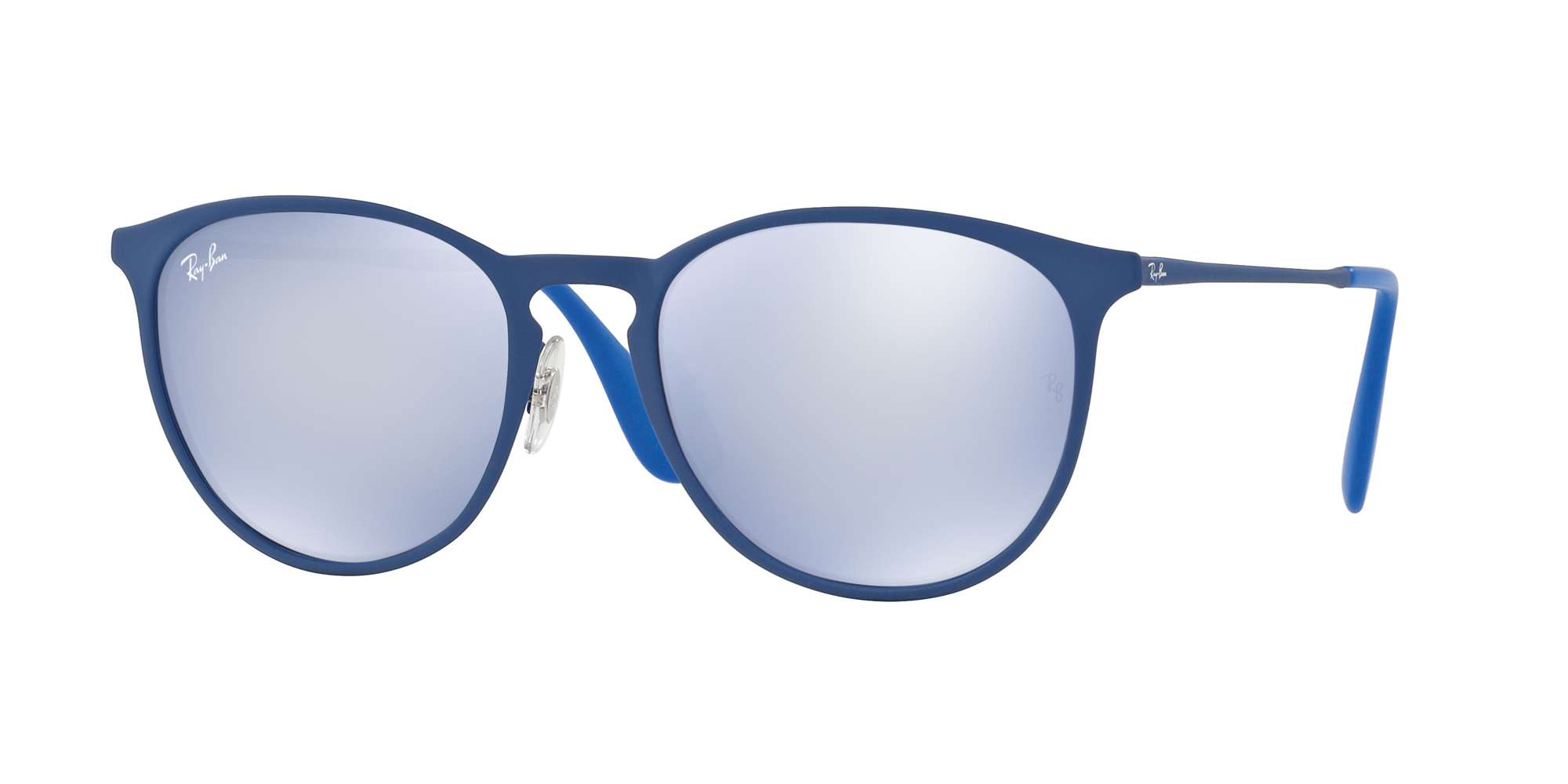 RUBBER ELETRIC BLUE / BLUE LIGHT FLASH GREY lenses