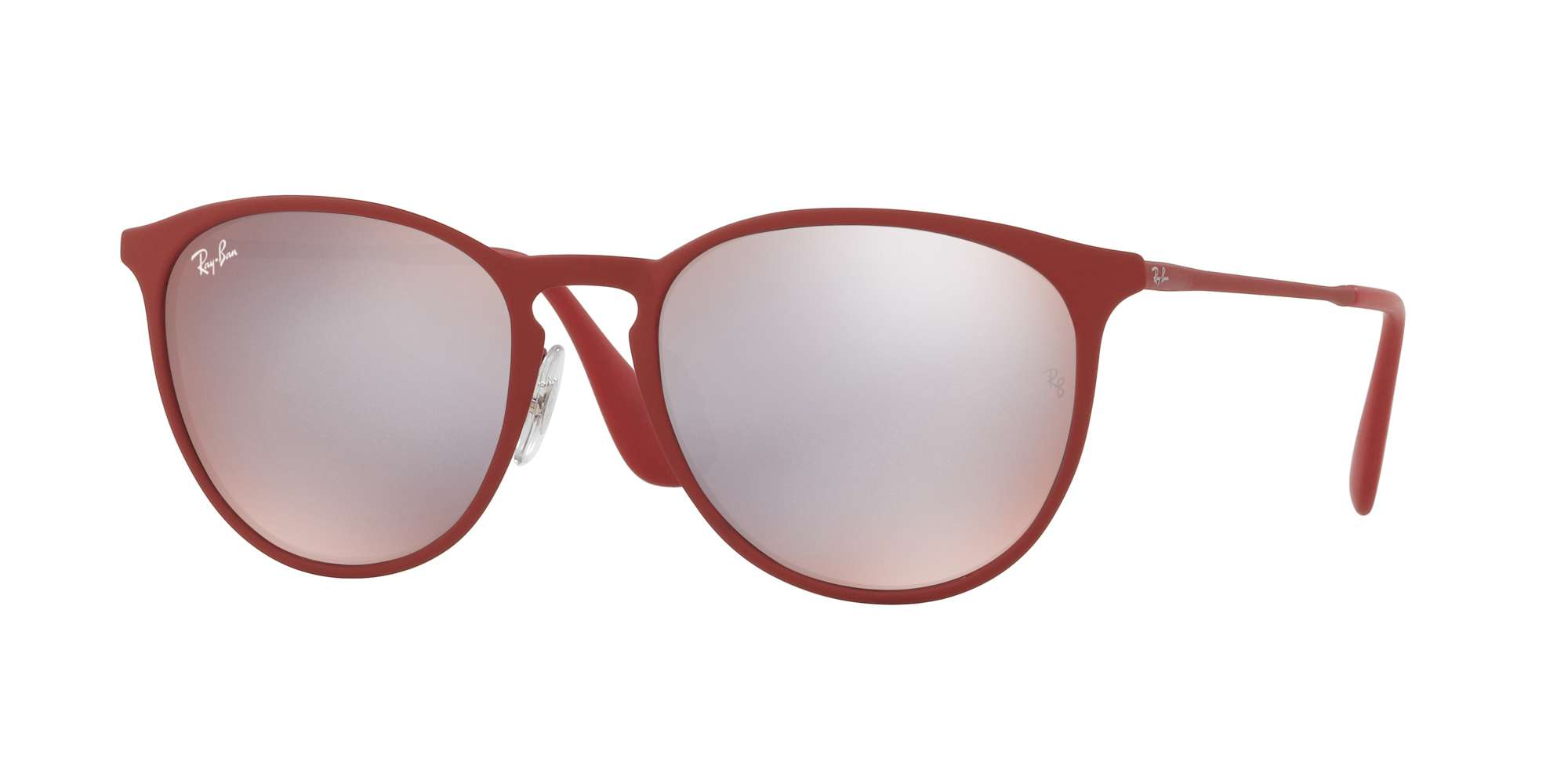 RUBBER BORDO' / BORDO' LIGHT FLASH GREY lenses