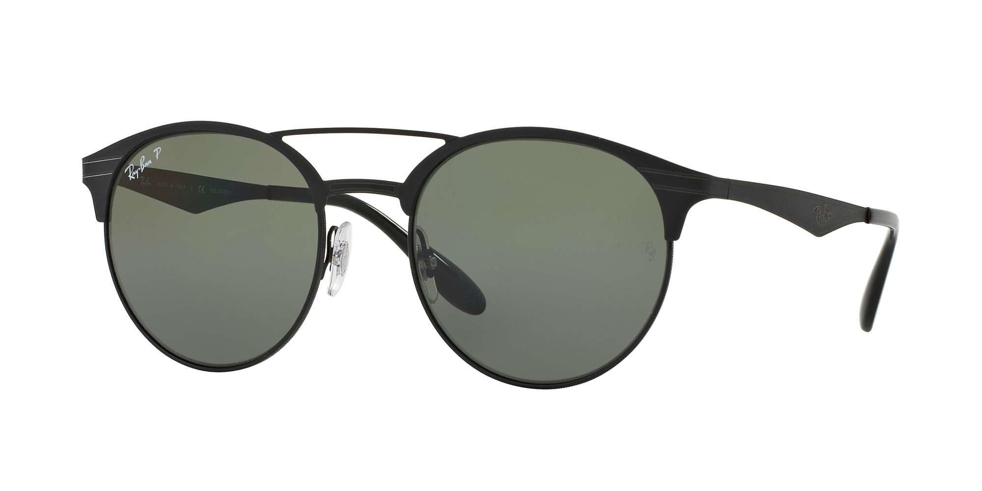 SHINY BLACK/TOP MATTE BL / POLAR GREEN lenses