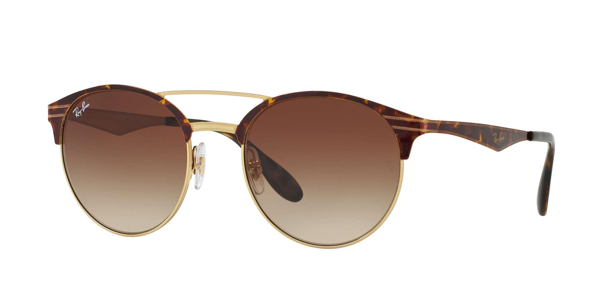 GOLD/TOP HAVANA / BROWN GRADIENT lenses