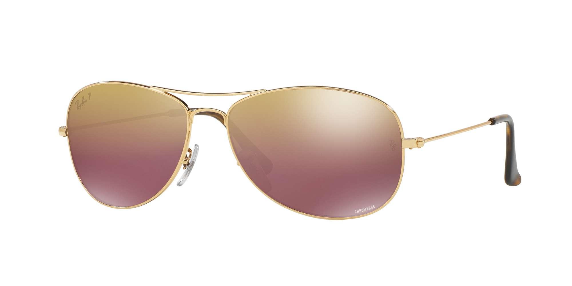 SHINY GOLD / BROWN POLAR MIRROR GOLD lenses