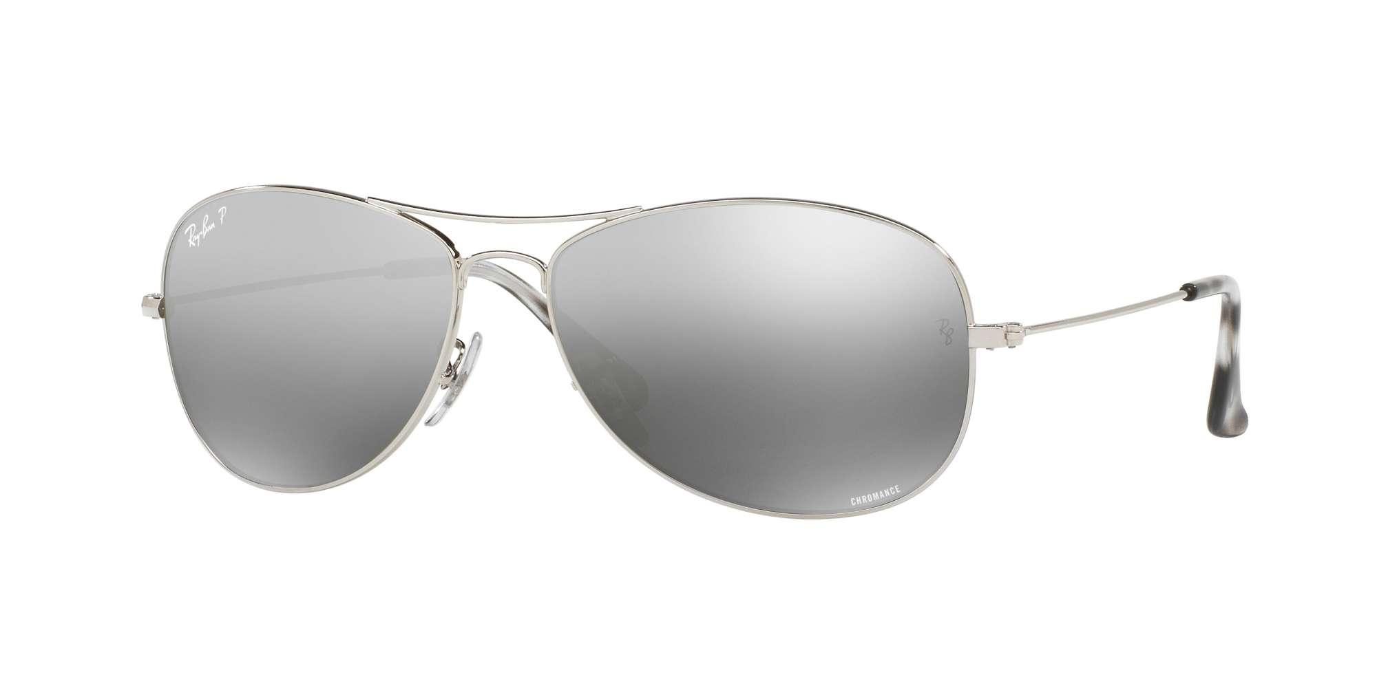 SHINY SILVER / GREY POLAR MIRROR SILVER lenses