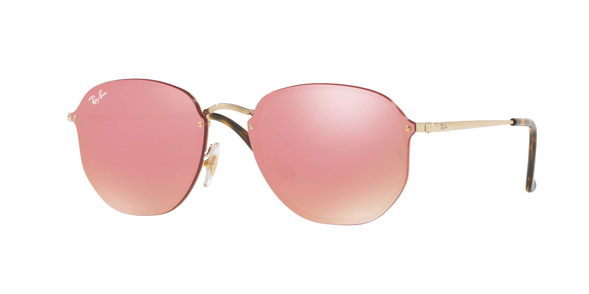 GOLD / PINK MIRROR PINK lenses