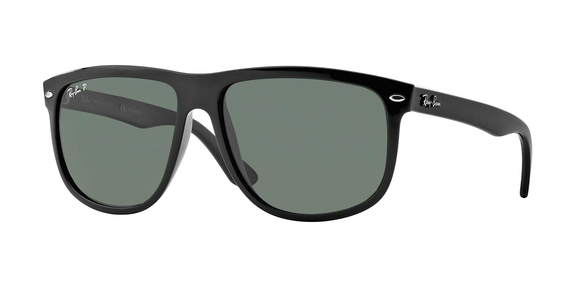 BLACK / GREEN POLARIZED lenses