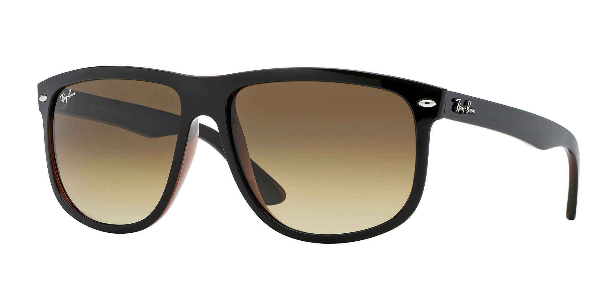 TOP BLACK ON BROWN / BROWN GRADIENT DARK BROWN lenses