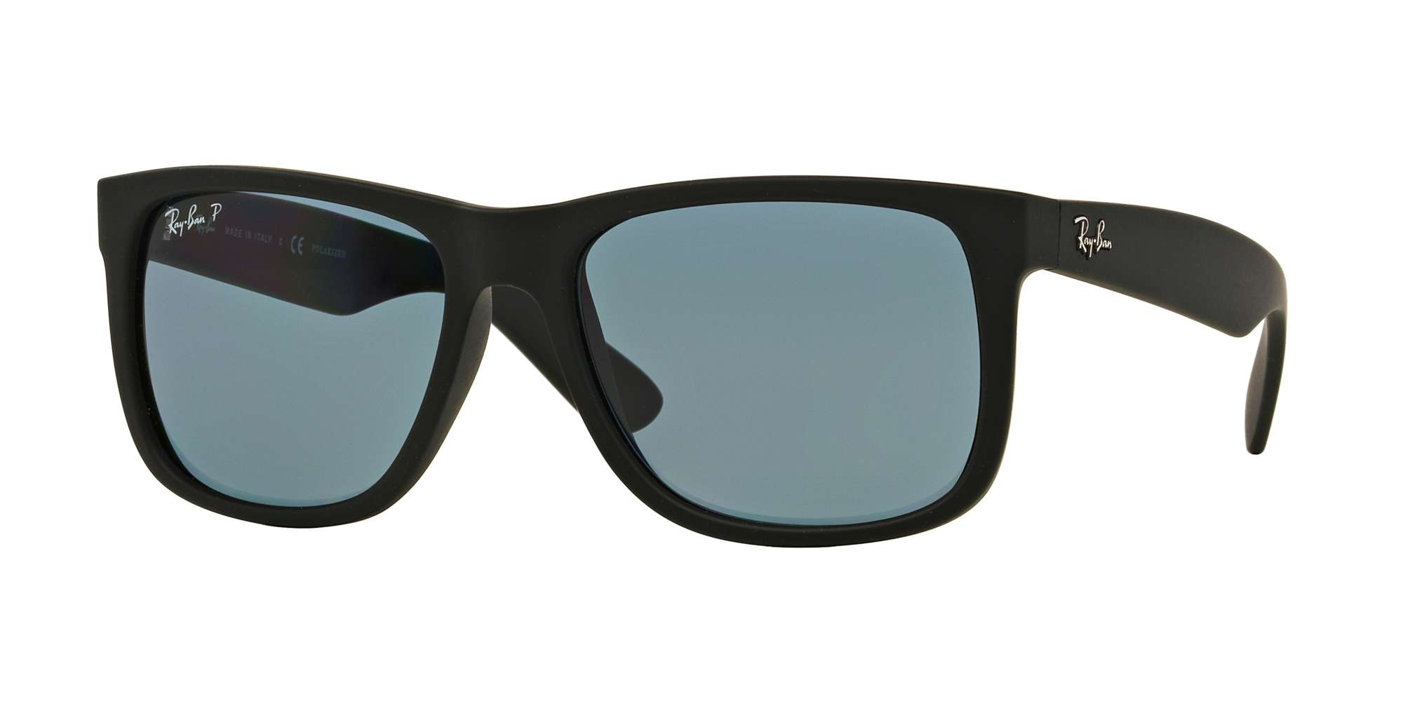 BLACK RUBBER / DARK BLUE POLAR lenses