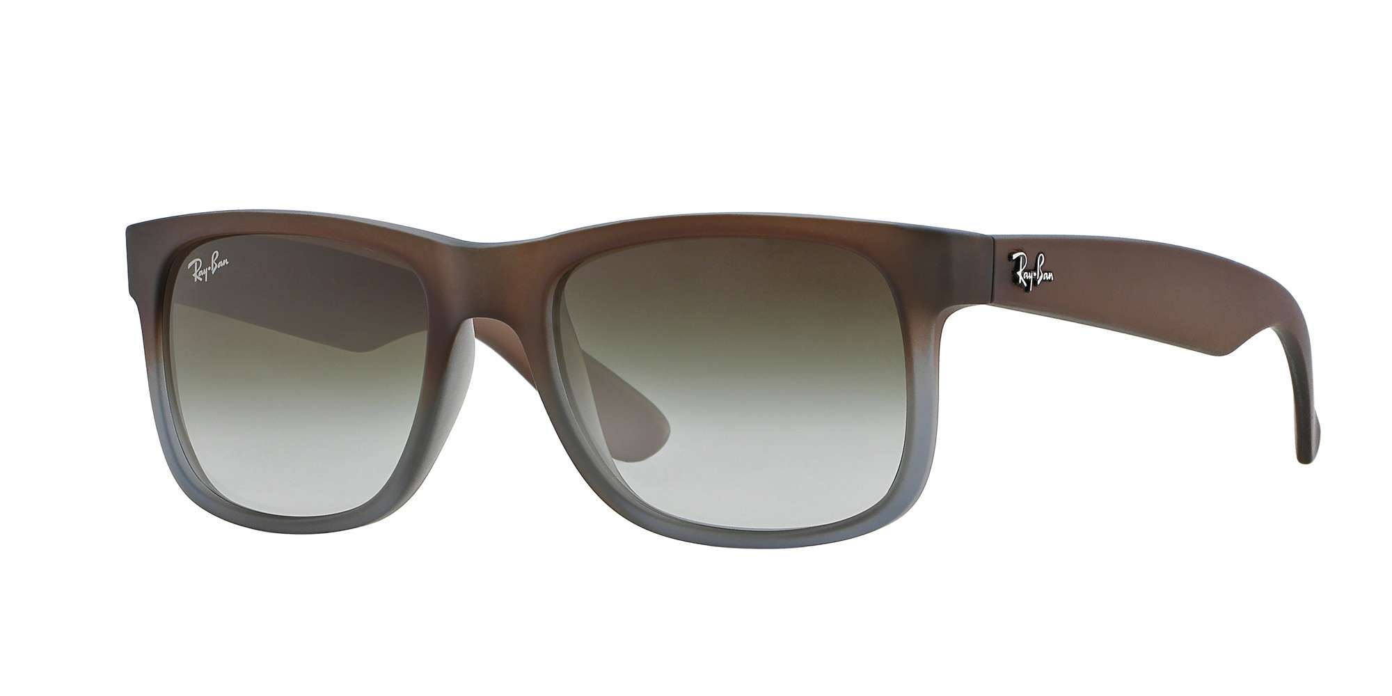 RUBBER BROWN ON GREY / GREEN GRADIENT lenses