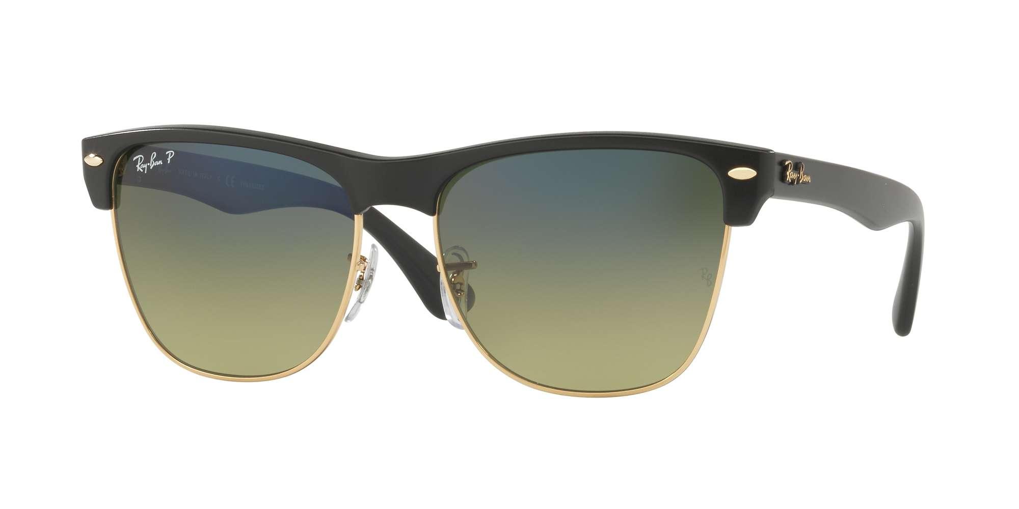 DEMIGLOSS BLACK / GREEN GRADIENT BLUE - POLAR lenses