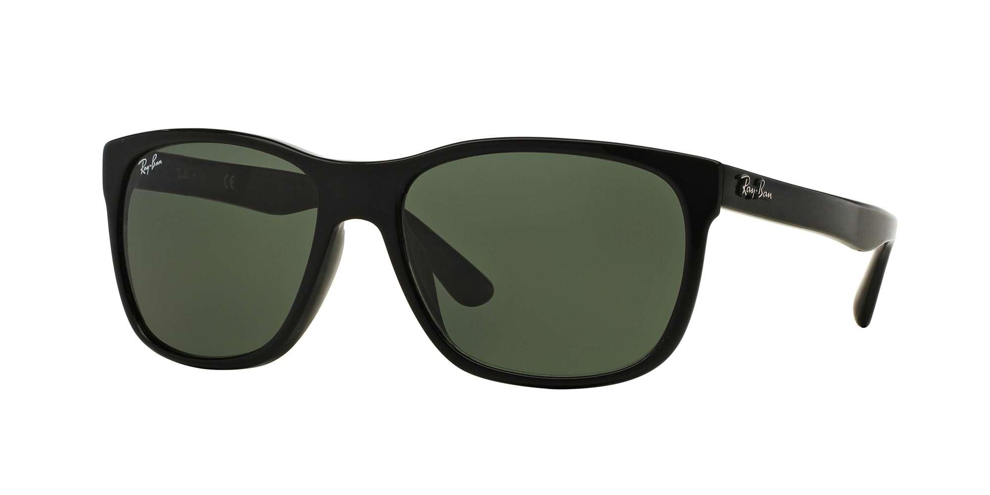BLACK / CRYSTAL GREEN lenses