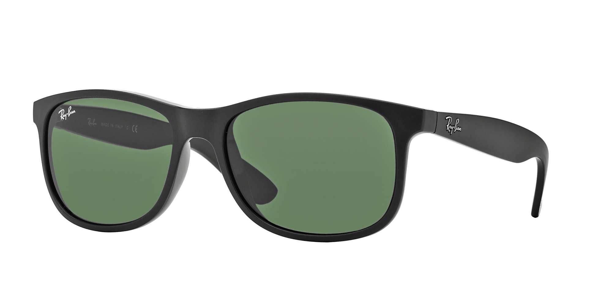 MATTE BLACK / DARK GREEN lenses