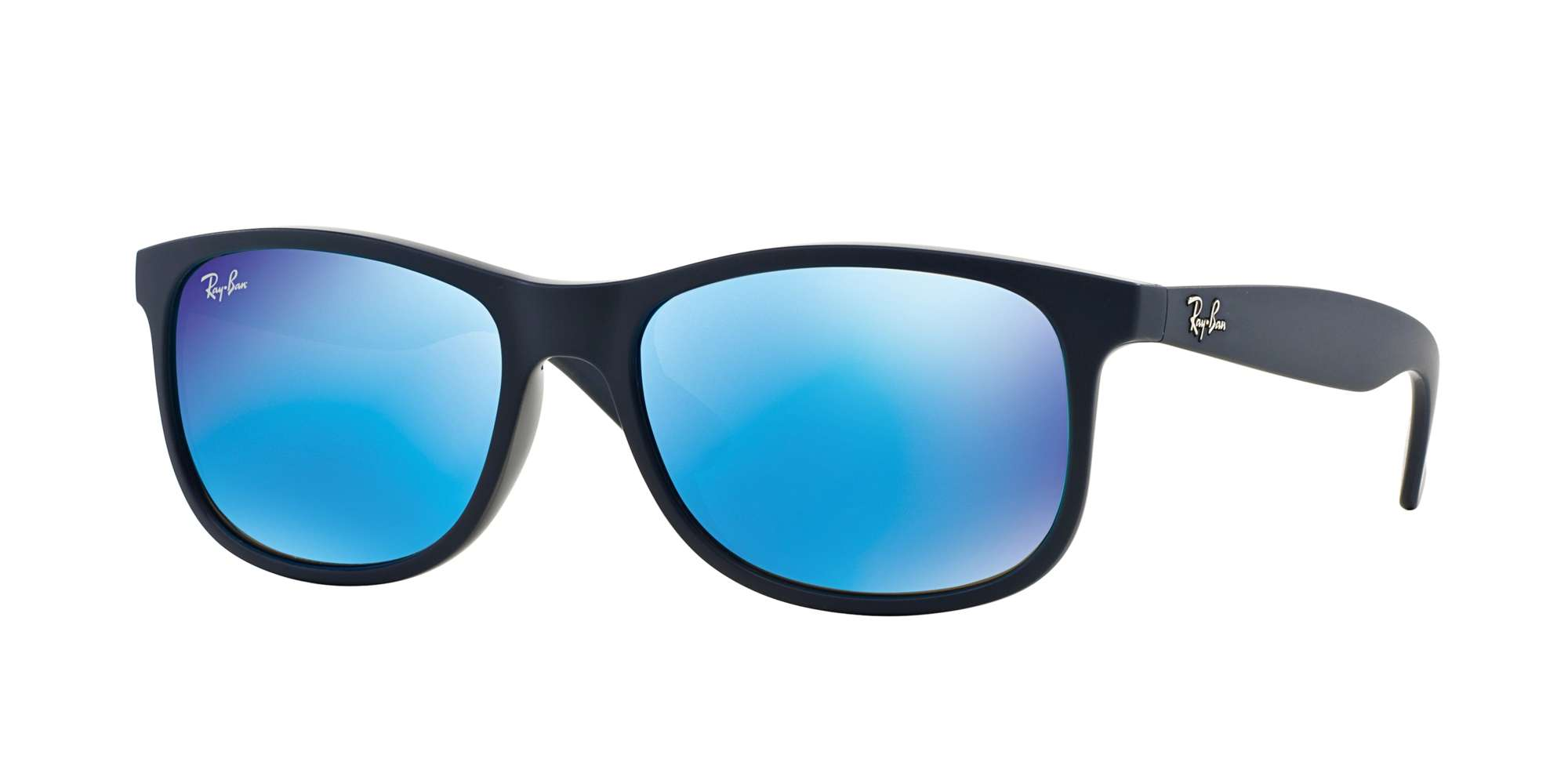 SHINY BLUE ON MATTE TOP / GREEN MIRROR BLUE lenses