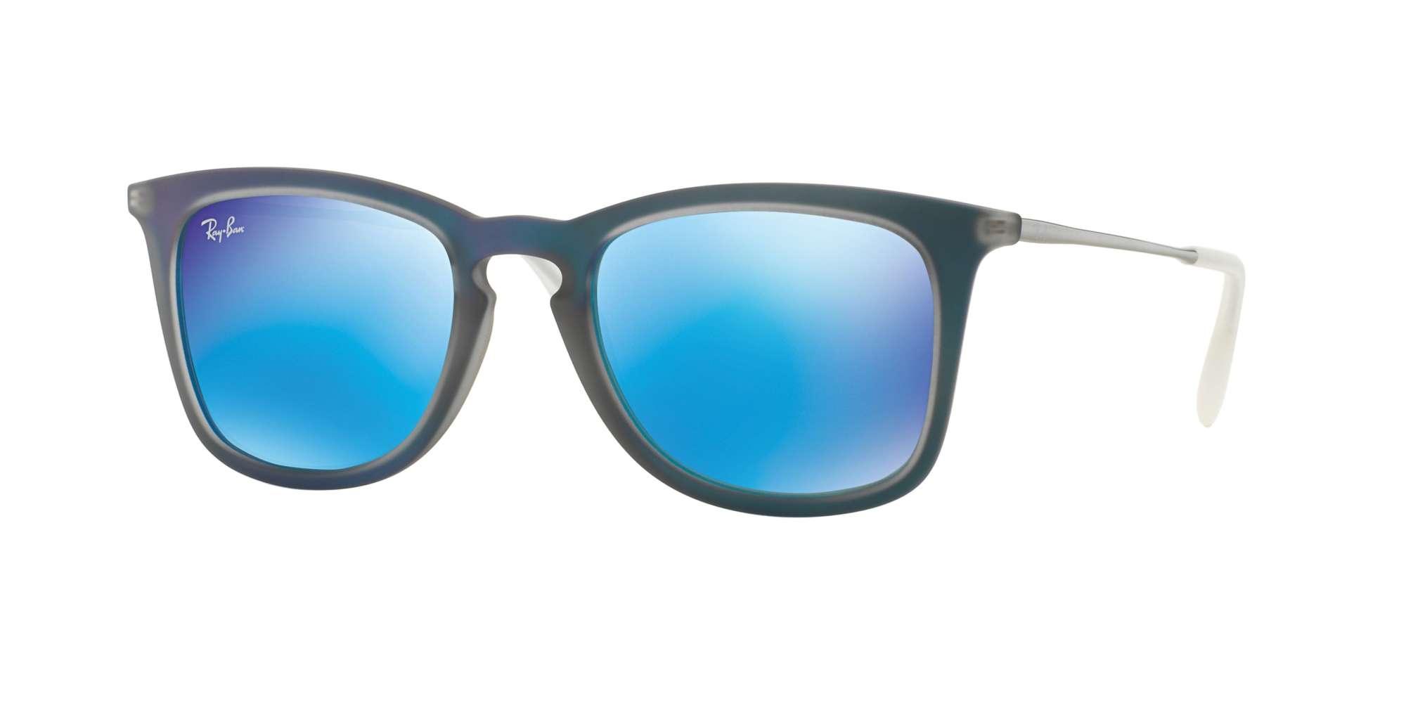 SHOT BLUE RUBBER / LIGHT GREEN MIRROR BLUE lenses