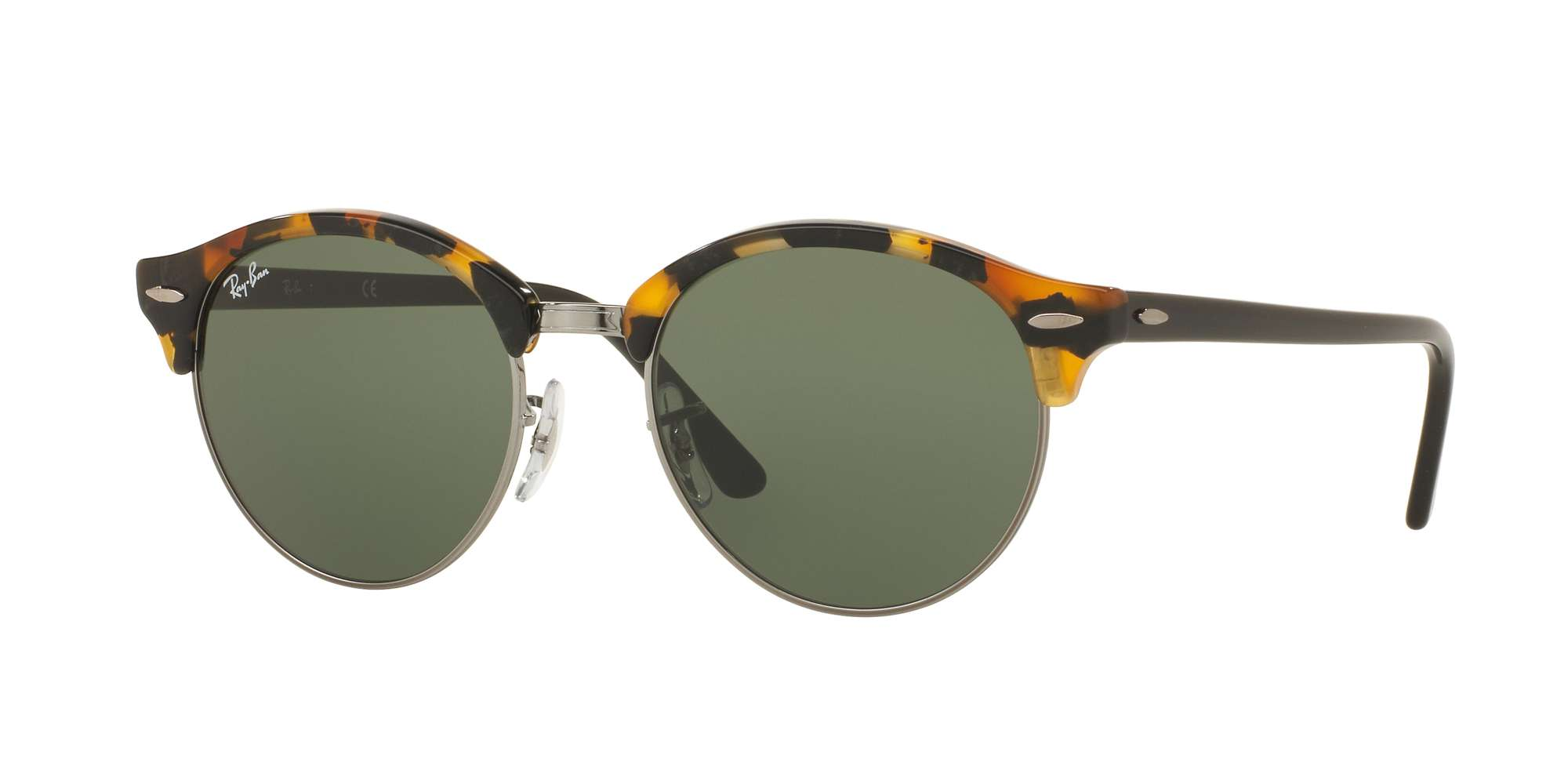 SPOTTED BLACK HAVANA / GREEN lenses